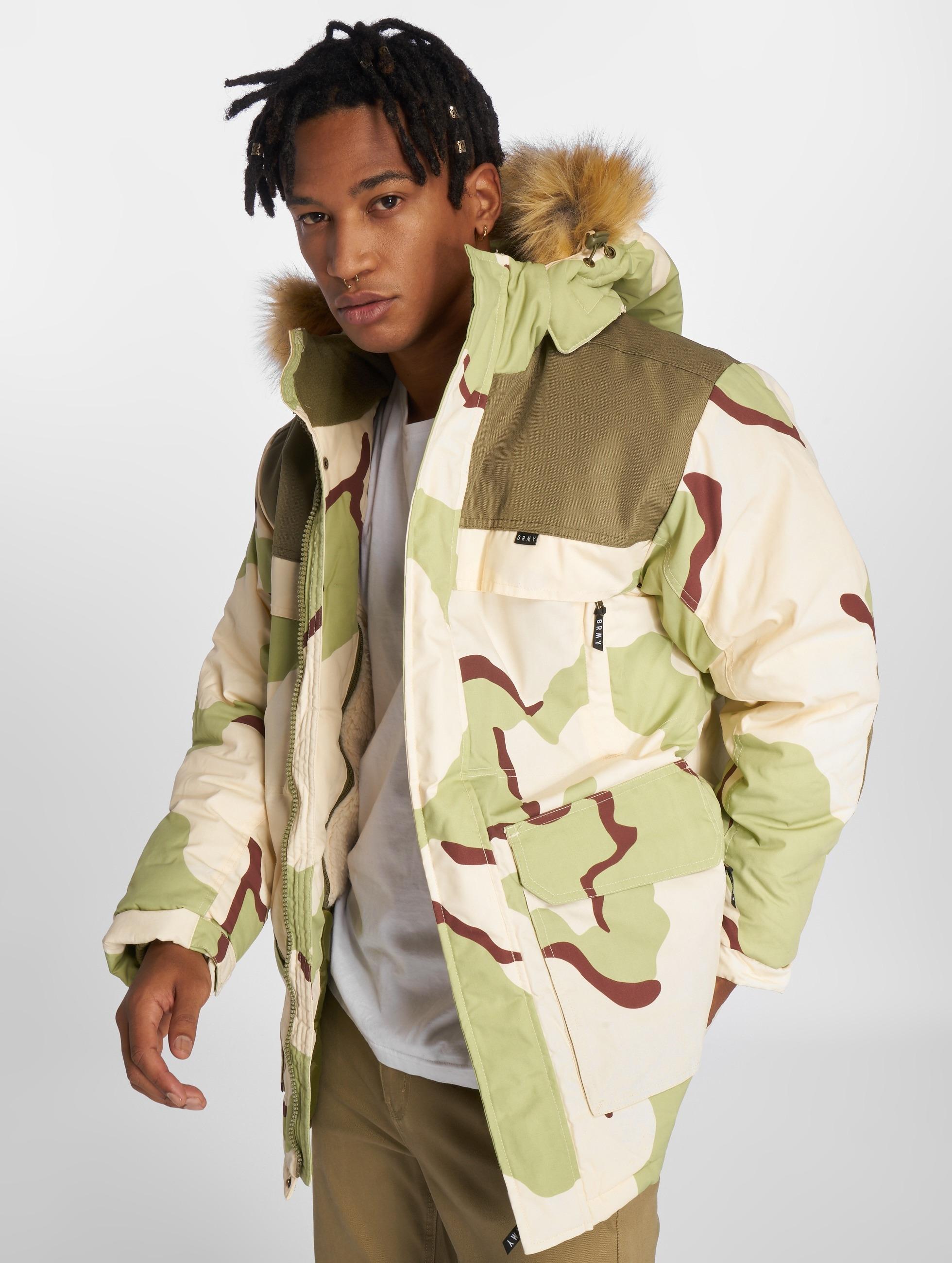 grimey wear pamir peaks camo camouflage homme manteau hiver 343414. Black Bedroom Furniture Sets. Home Design Ideas