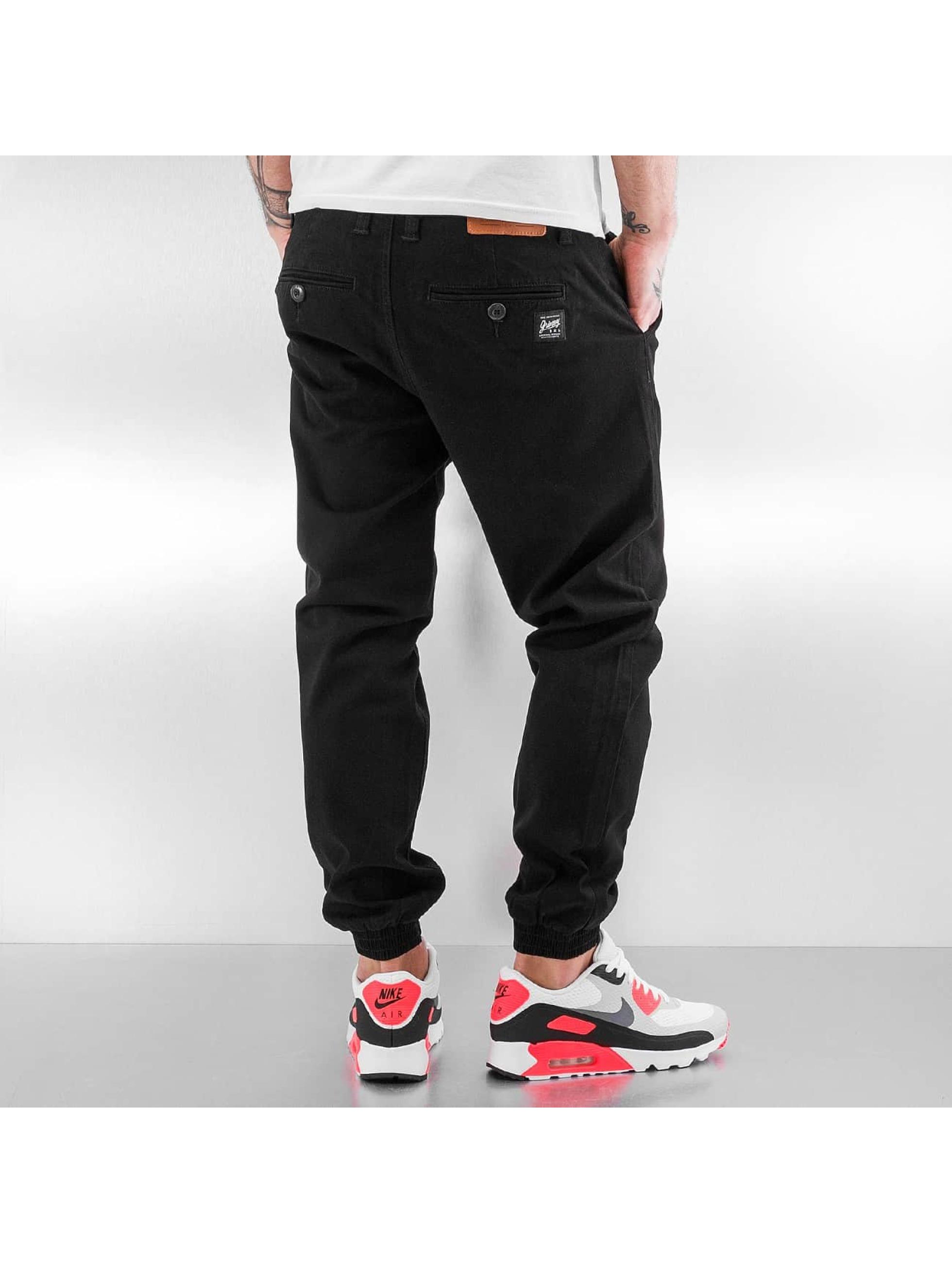 Grimey Wear Pantalone ginnico Twill Peach nero