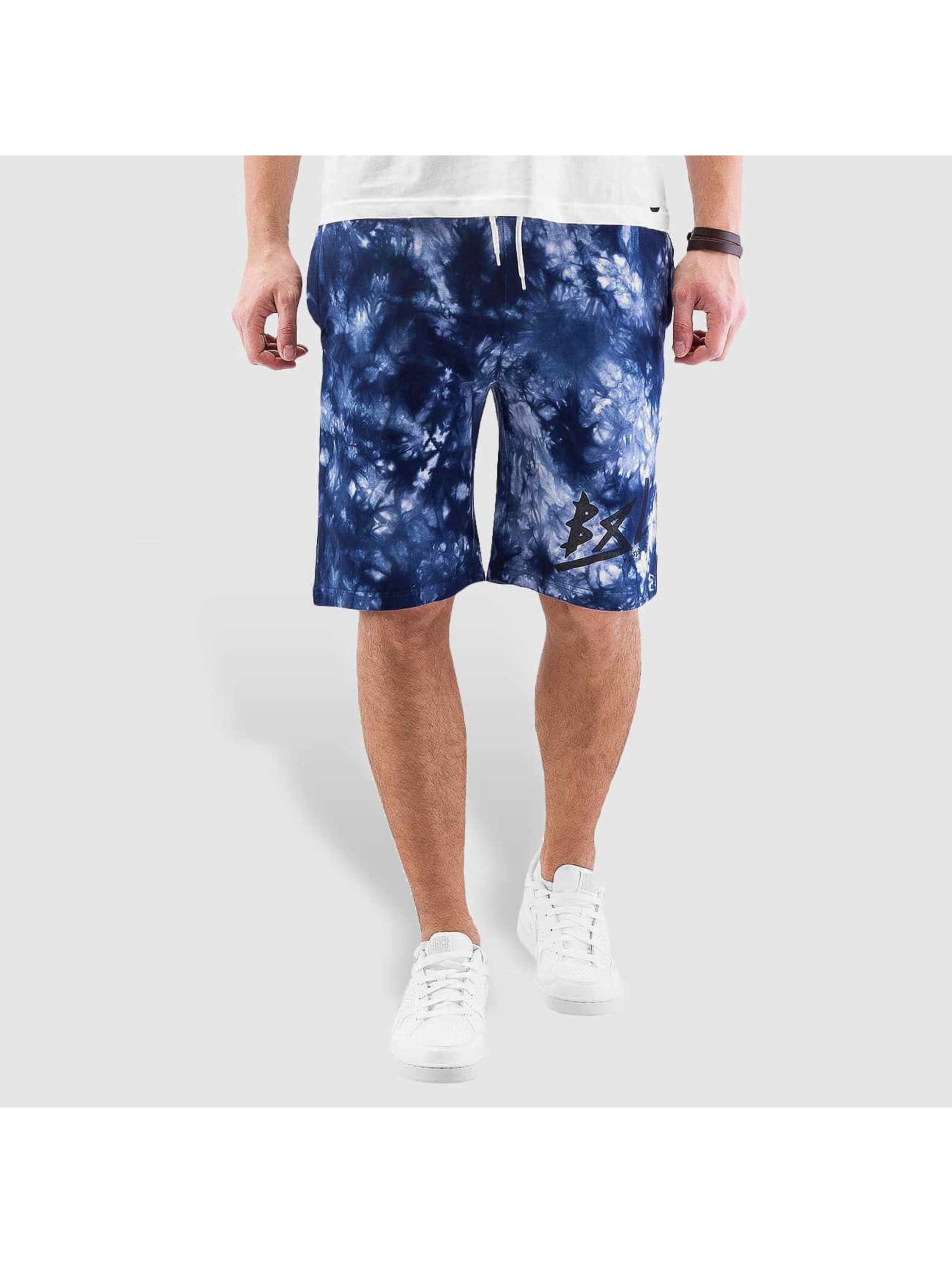 Grimey Wear Shorts y Beigns Tie Dye blau