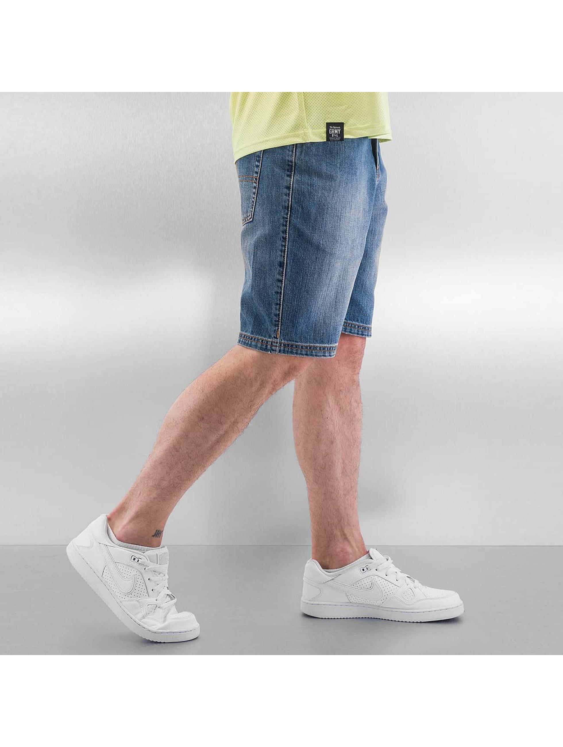Grimey Wear Shorts Classic blau