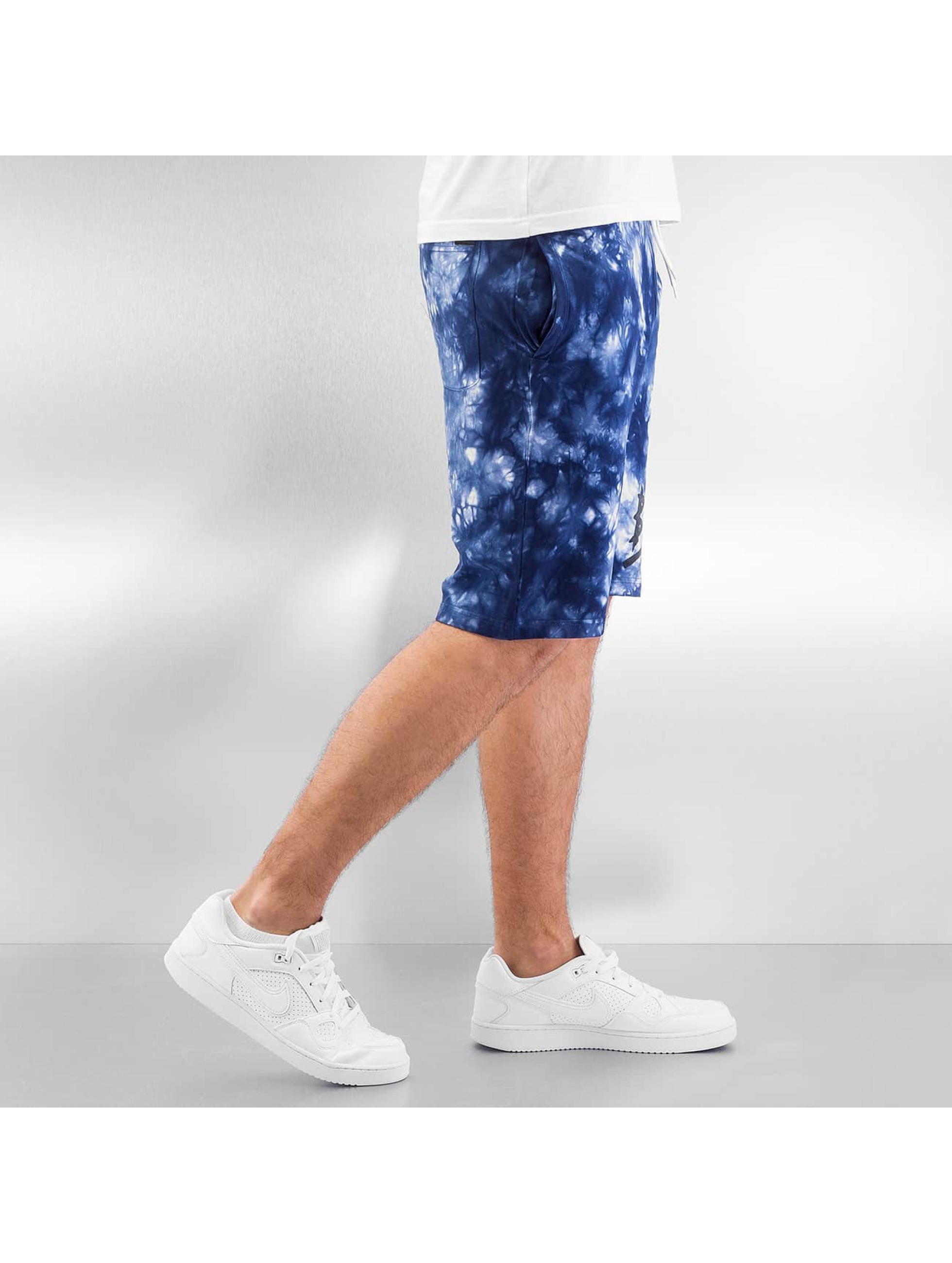 Grimey Wear shorts y Beigns Tie Dye blauw