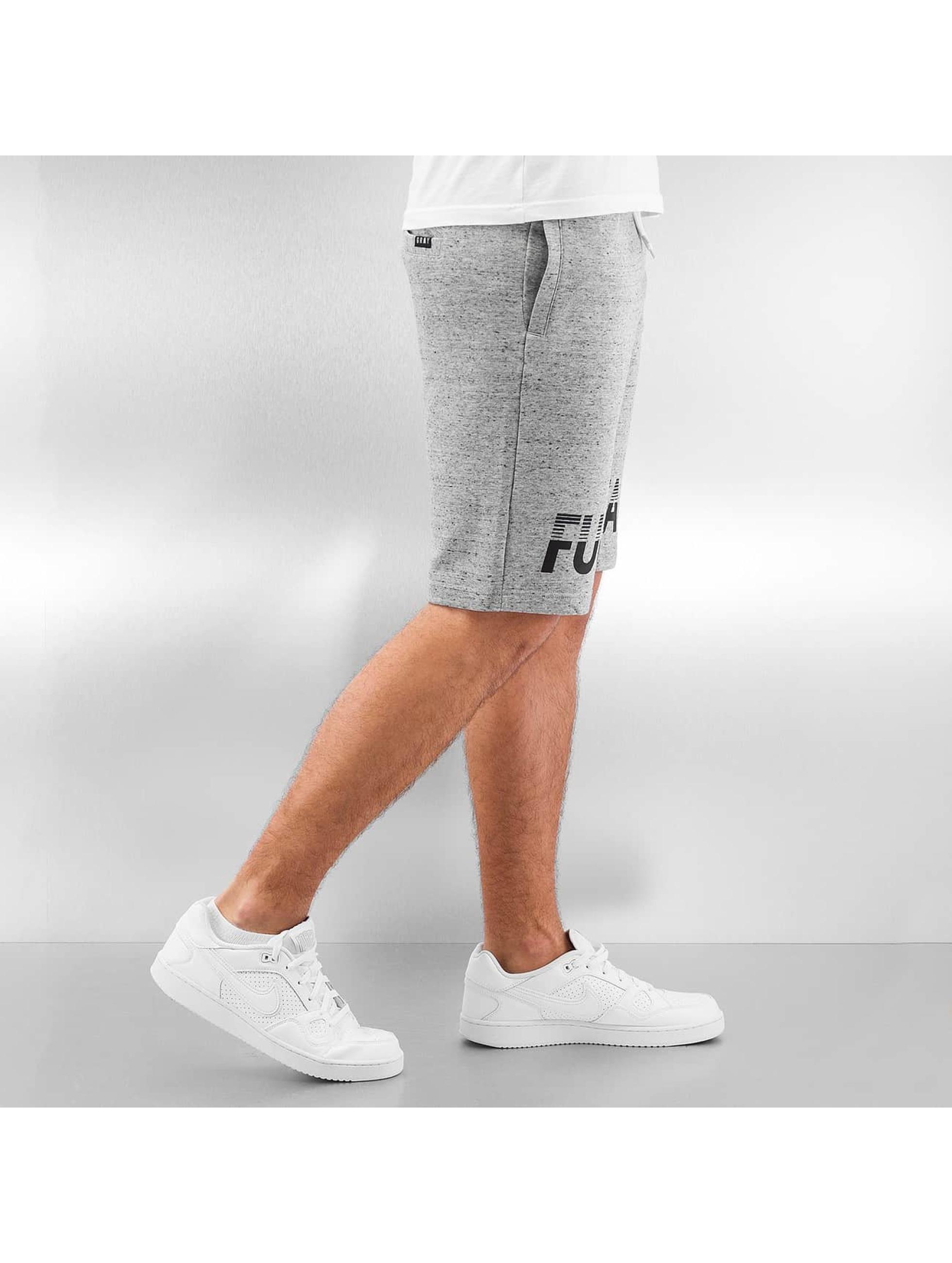 Grimey Wear Shorts Fuck Fame grau