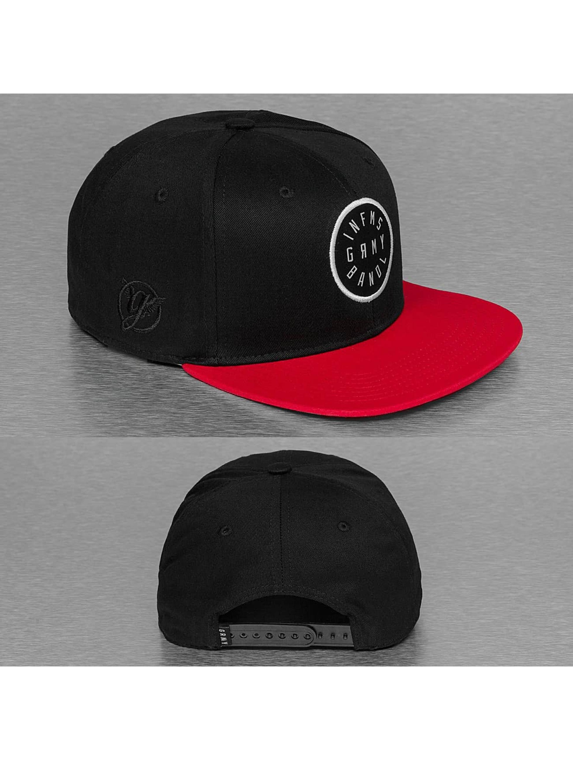 Grimey Wear Snapback Cap Smoky Alley black