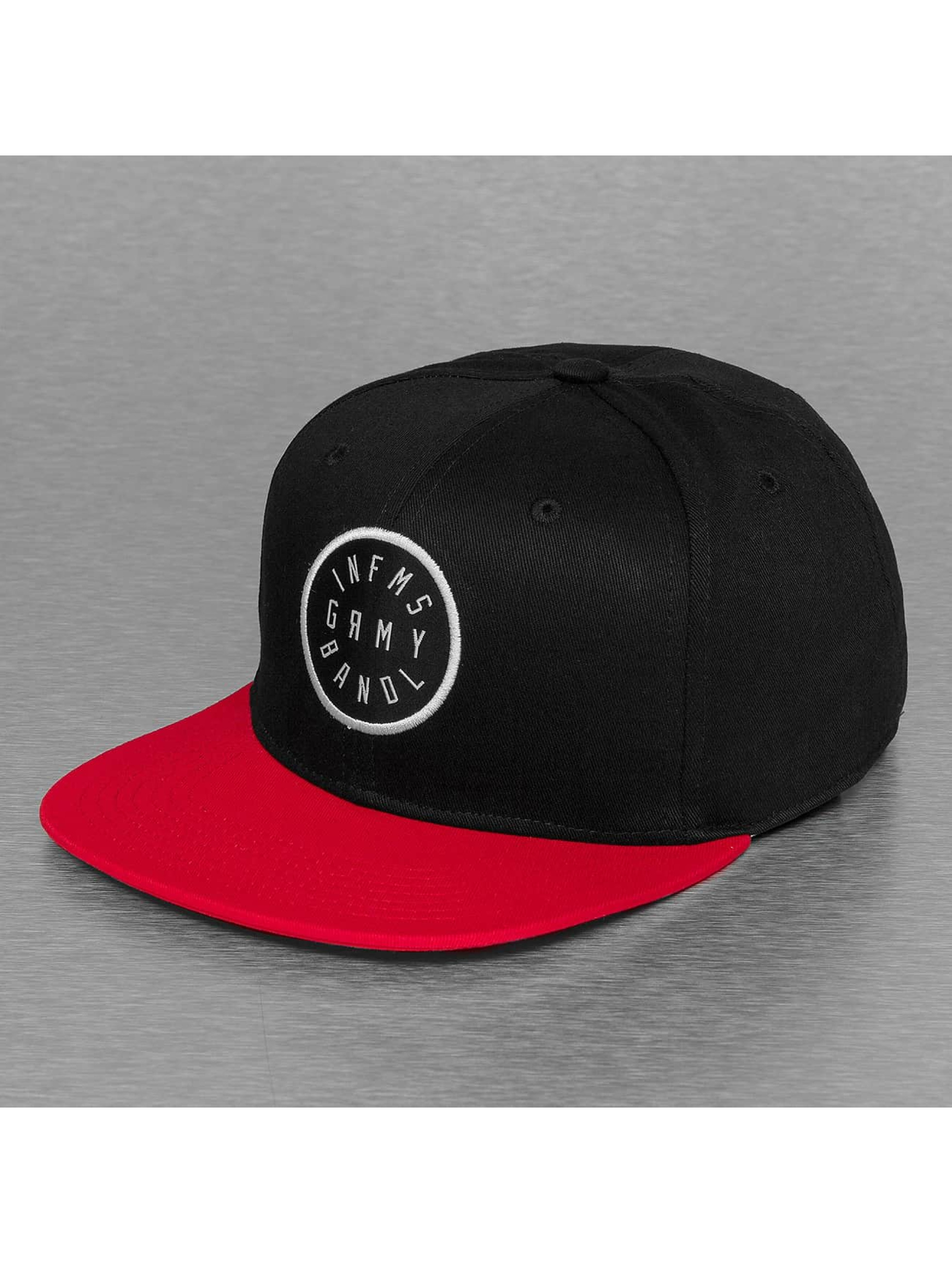 Grimey Wear Snapback Caps Smoky Alley svart