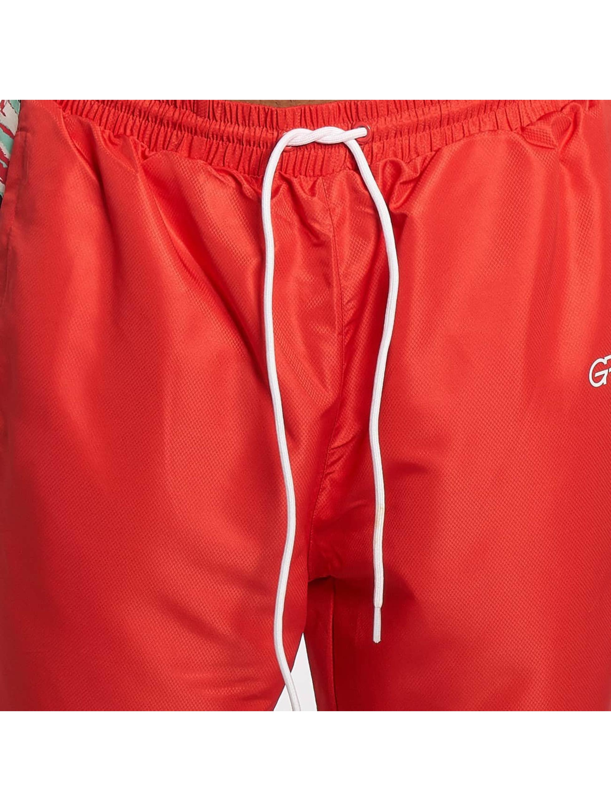 Grimey Wear Spodnie do joggingu Mangusta V8 czerwony