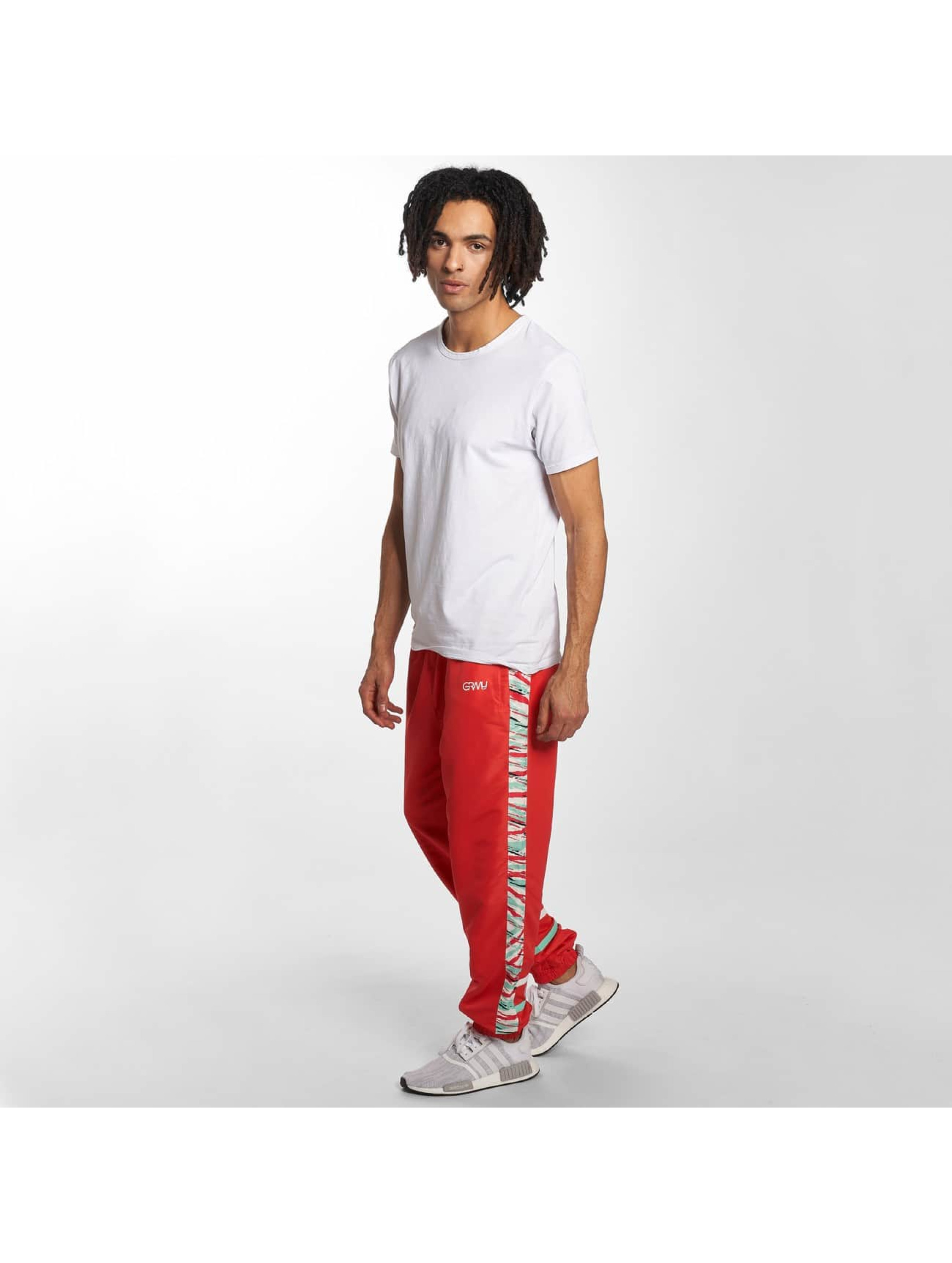 Grimey Wear Sweat Pant Mangusta V8 red