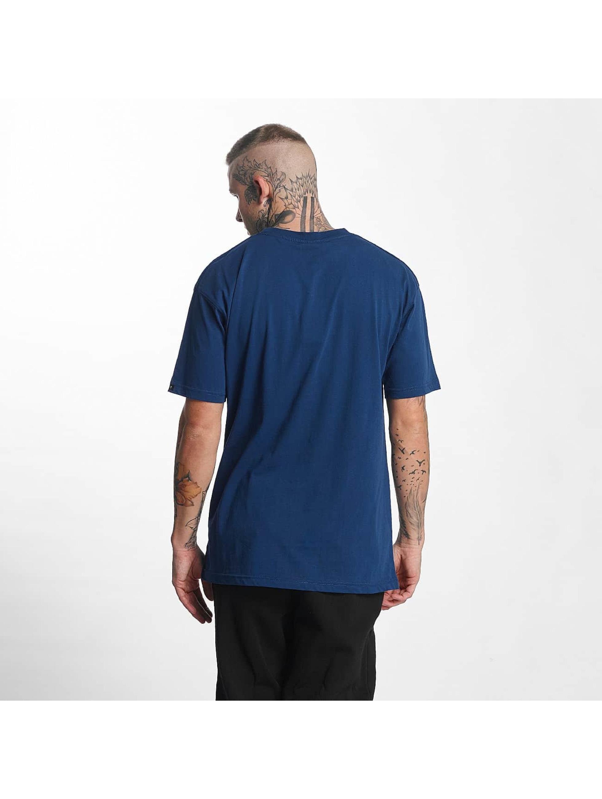 Grimey Wear T-Shirt The Lucy Pearl blau
