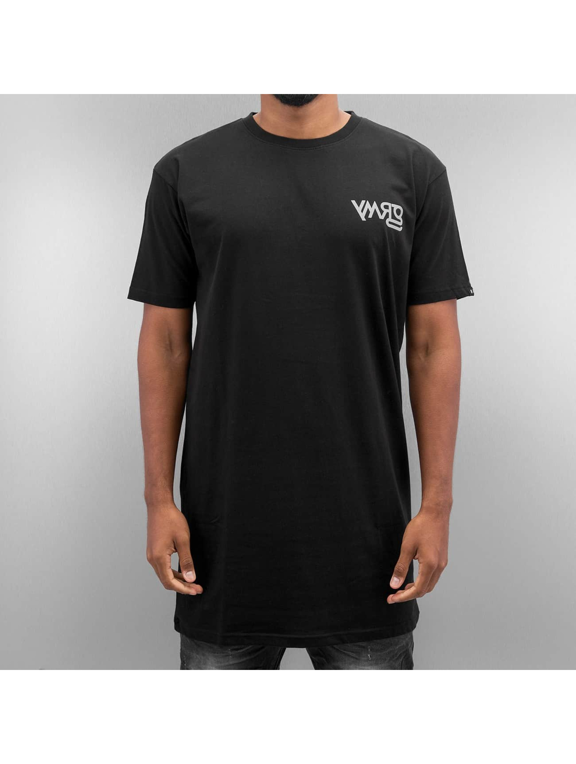 Grimey Wear T-skjorter Fire Eater Long svart