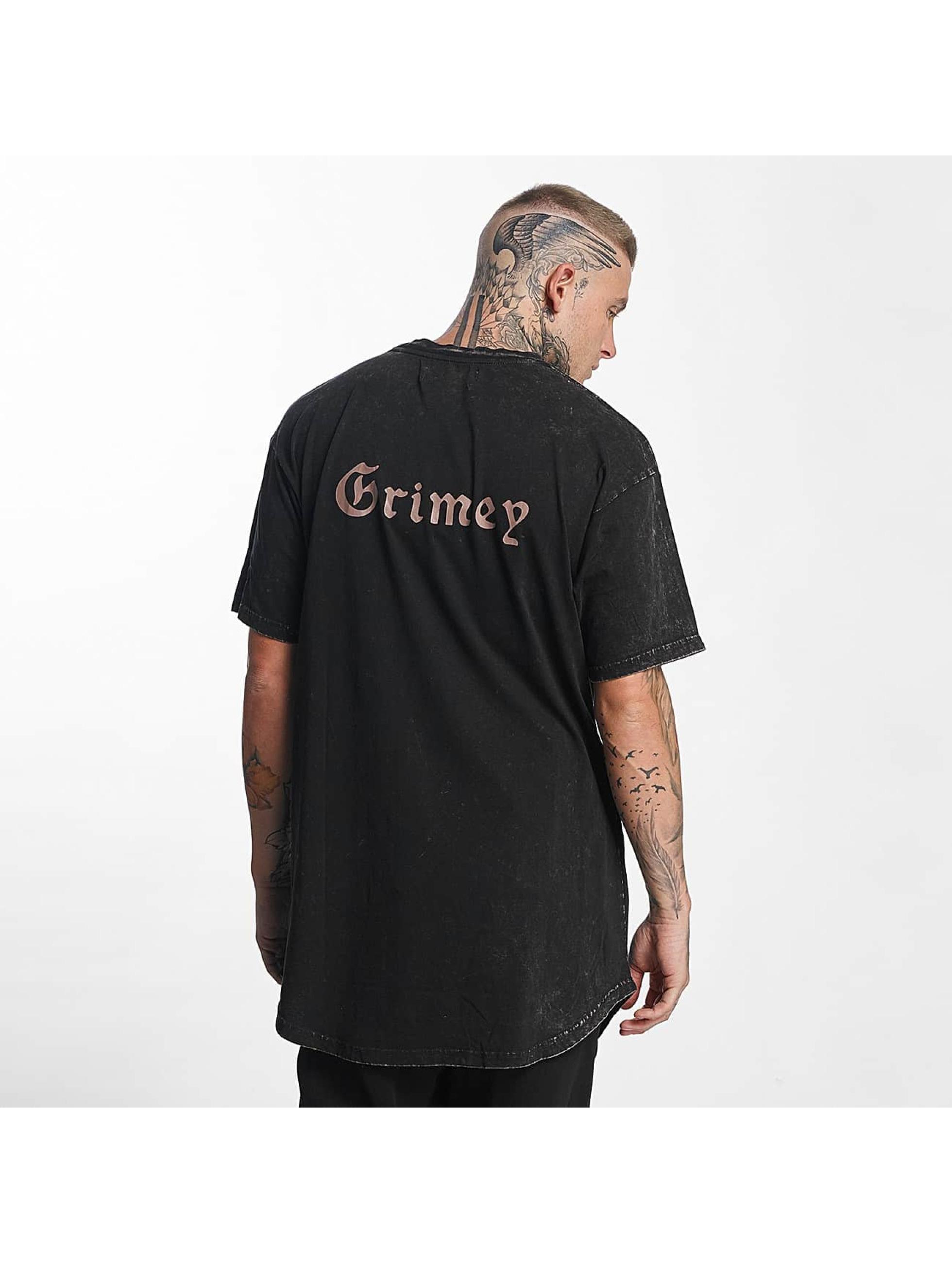 Grimey Wear Tall Tees Hi Jack èierna