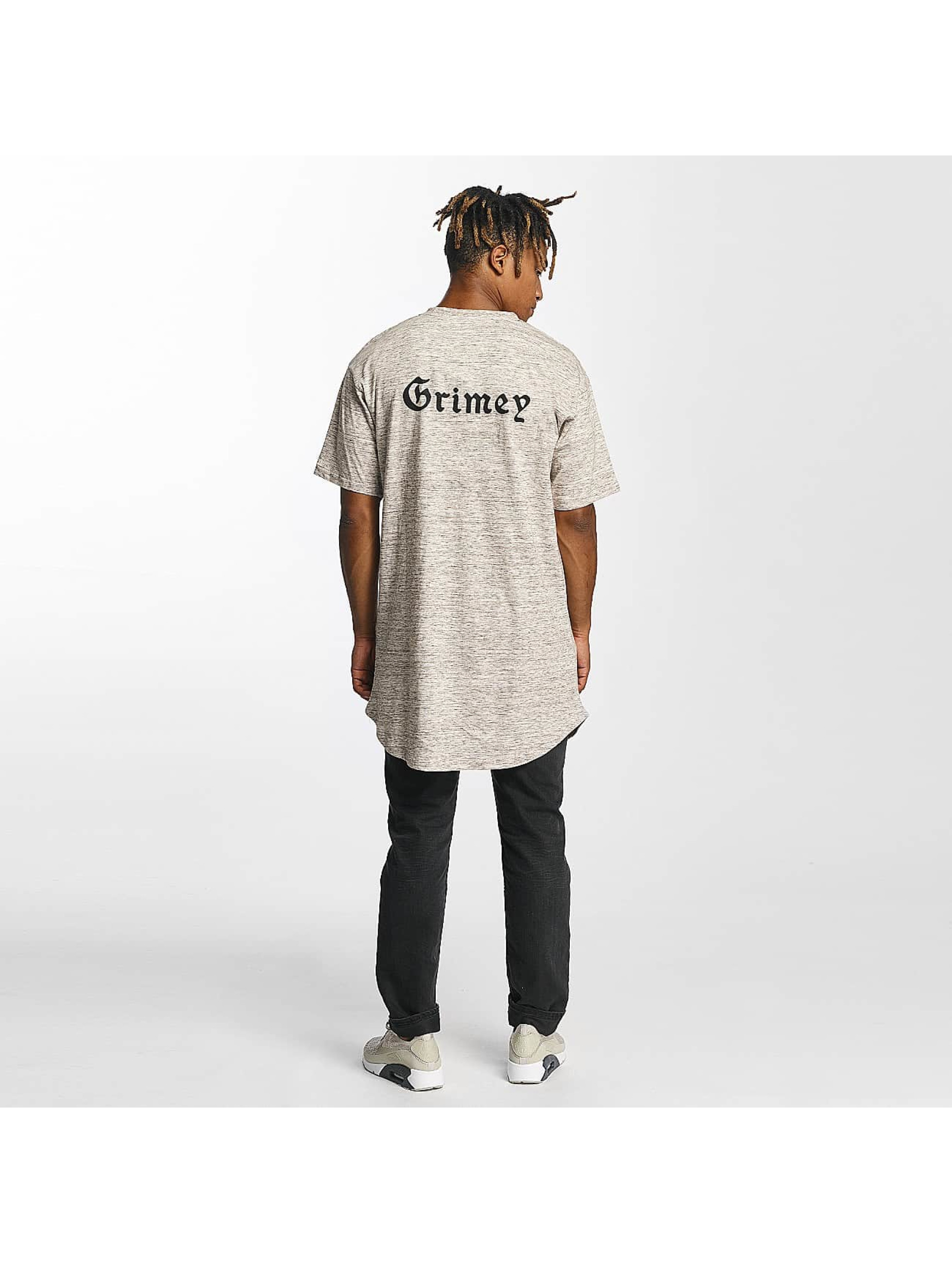Grimey Wear Tall Tees Hi Jack Curvy Long hnedá