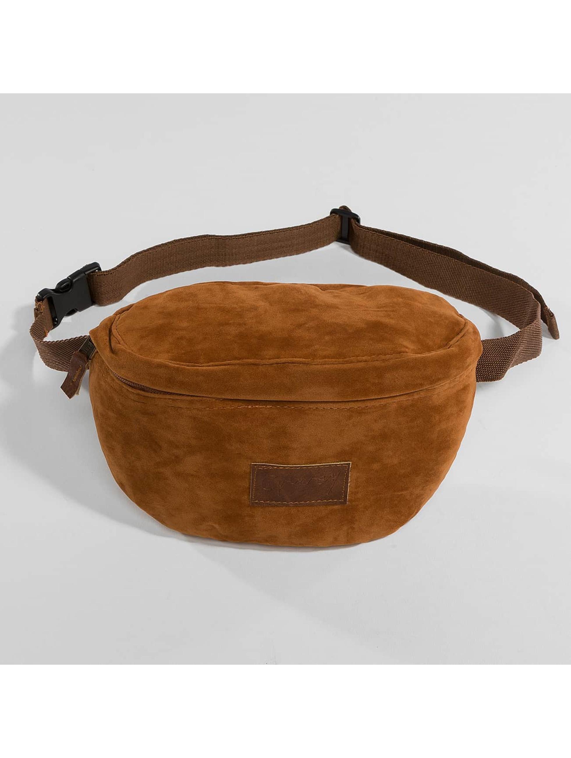 Grimey Wear Tasche Natural Suede braun