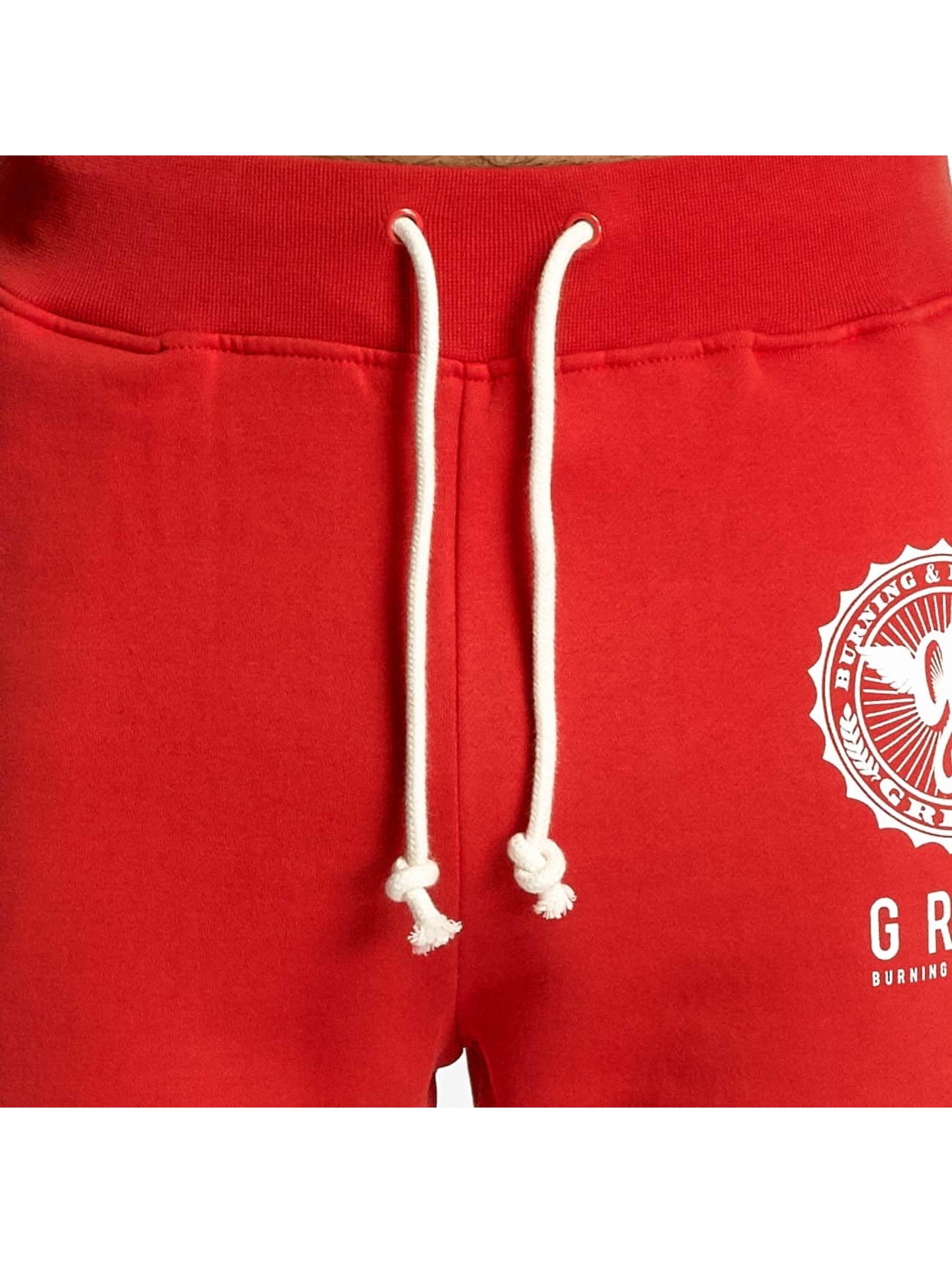 Grimey Wear tepláky Core èervená