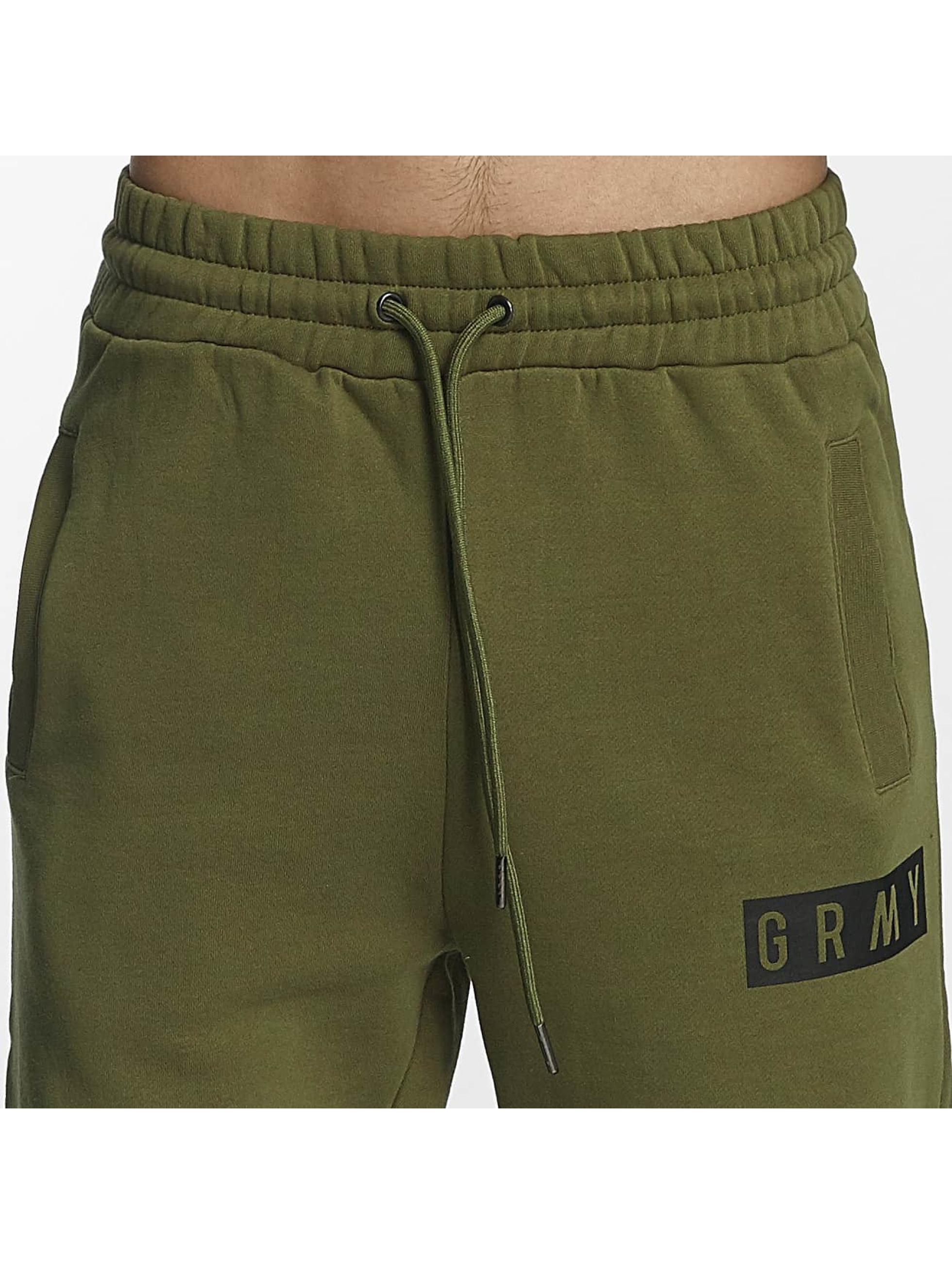 Grimey Wear tepláky Overcome Gravity olivová