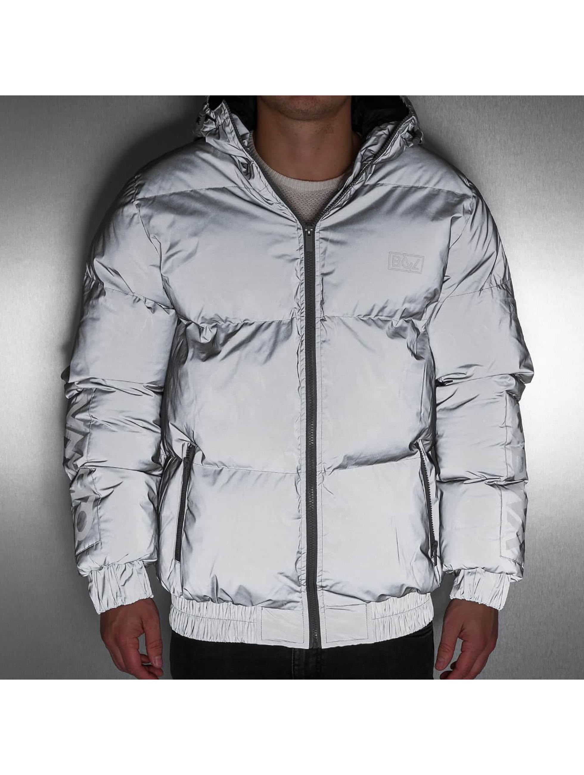 Grimey Wear Winter Jacket Fire Eater grey