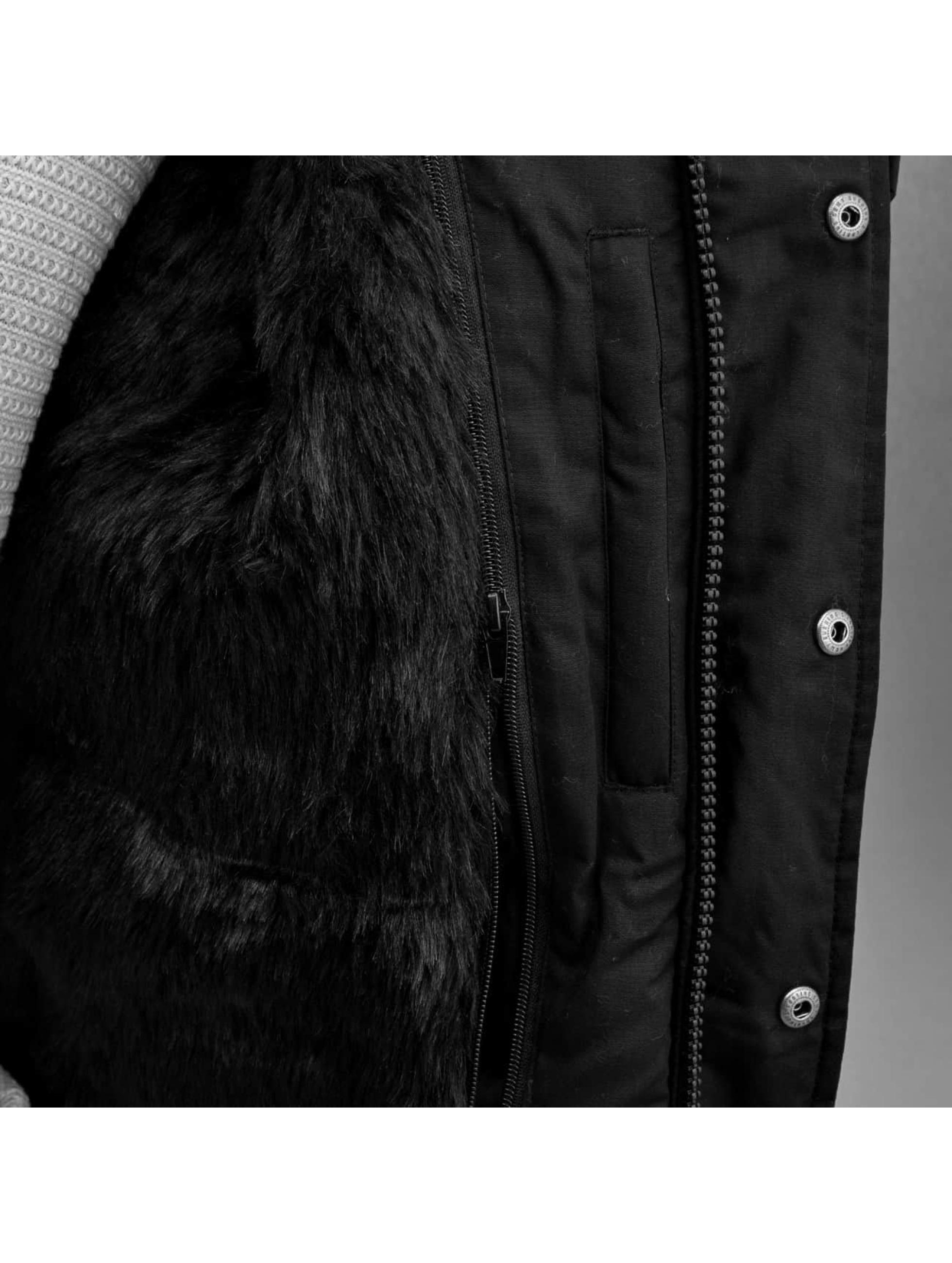 Grimey Wear Winterjacke Smoky Alley schwarz