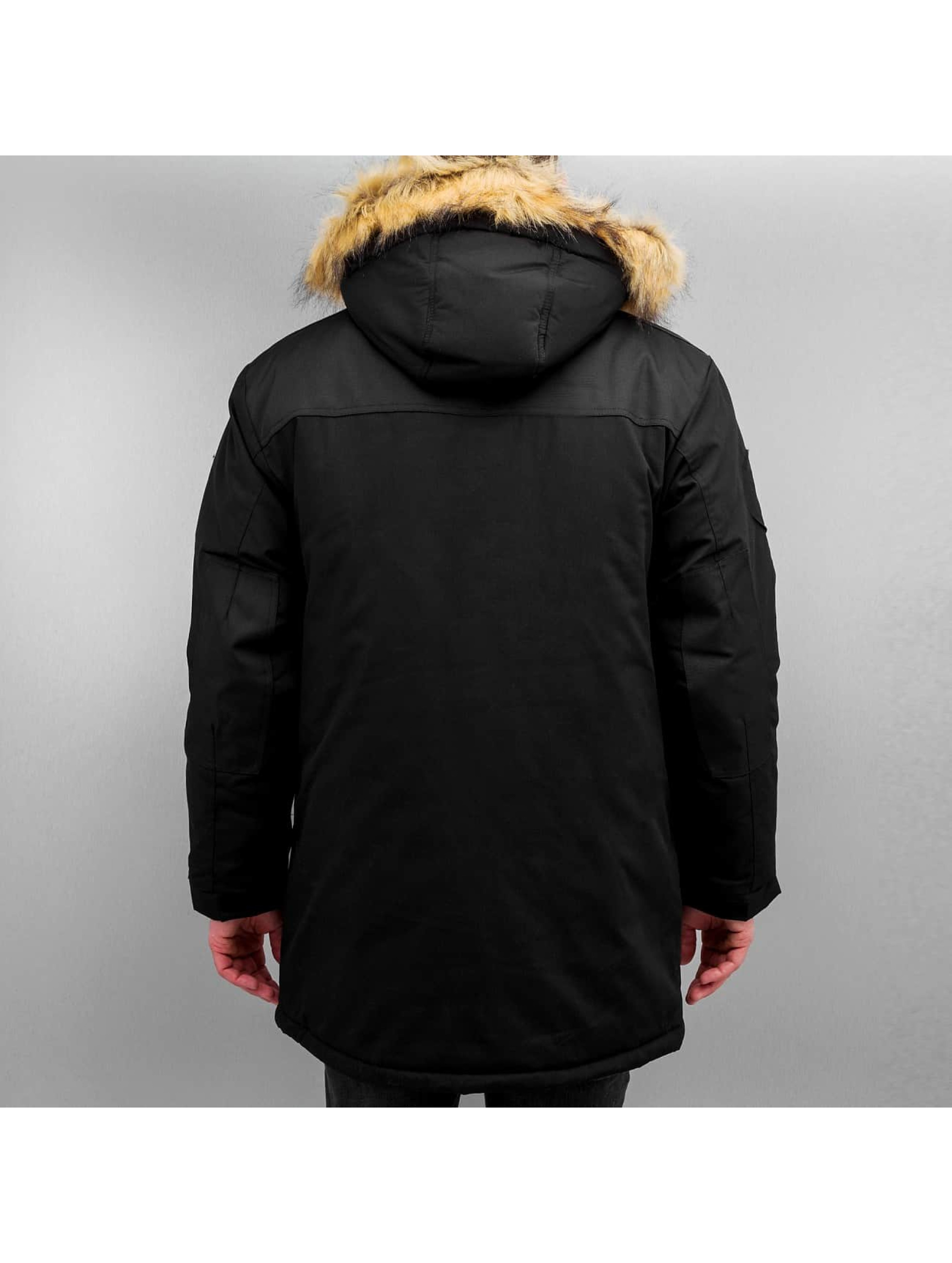 Grimey Wear winterjas Smoky Alley zwart