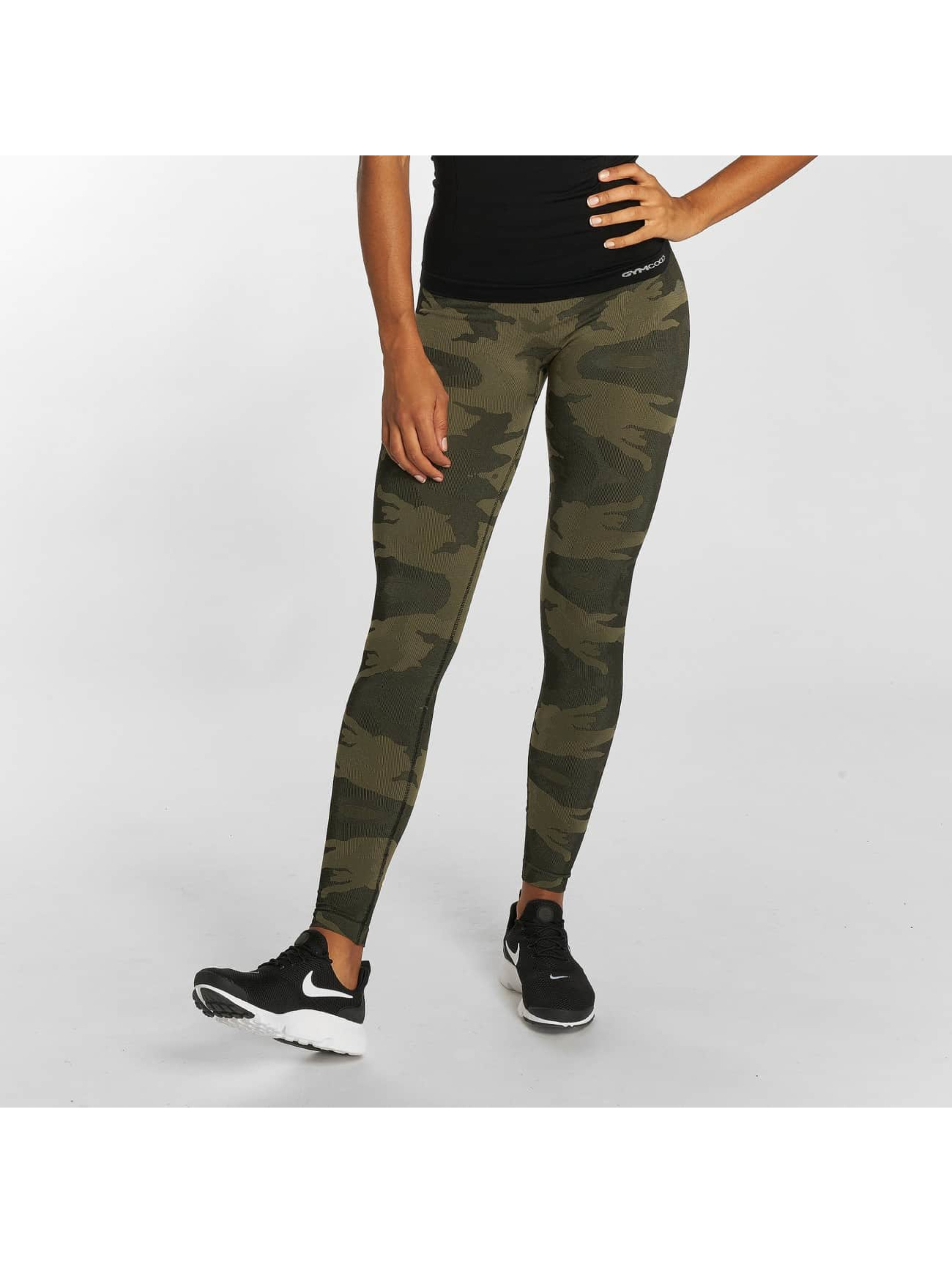 GymCodes Leggings/Treggings Flex High-Waist kamuflasje