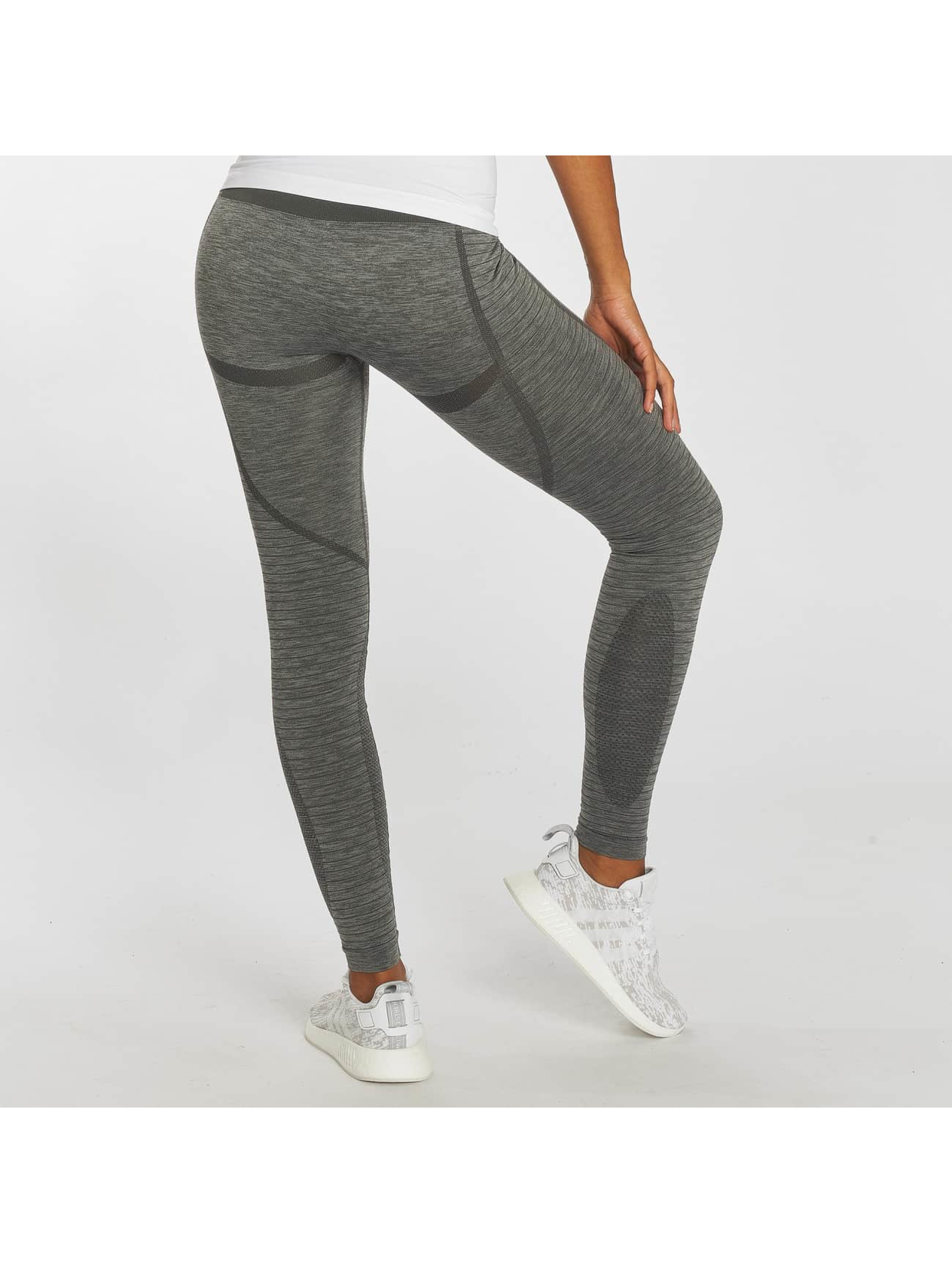GymCodes Leggings/Treggings Flex High-Waist szary