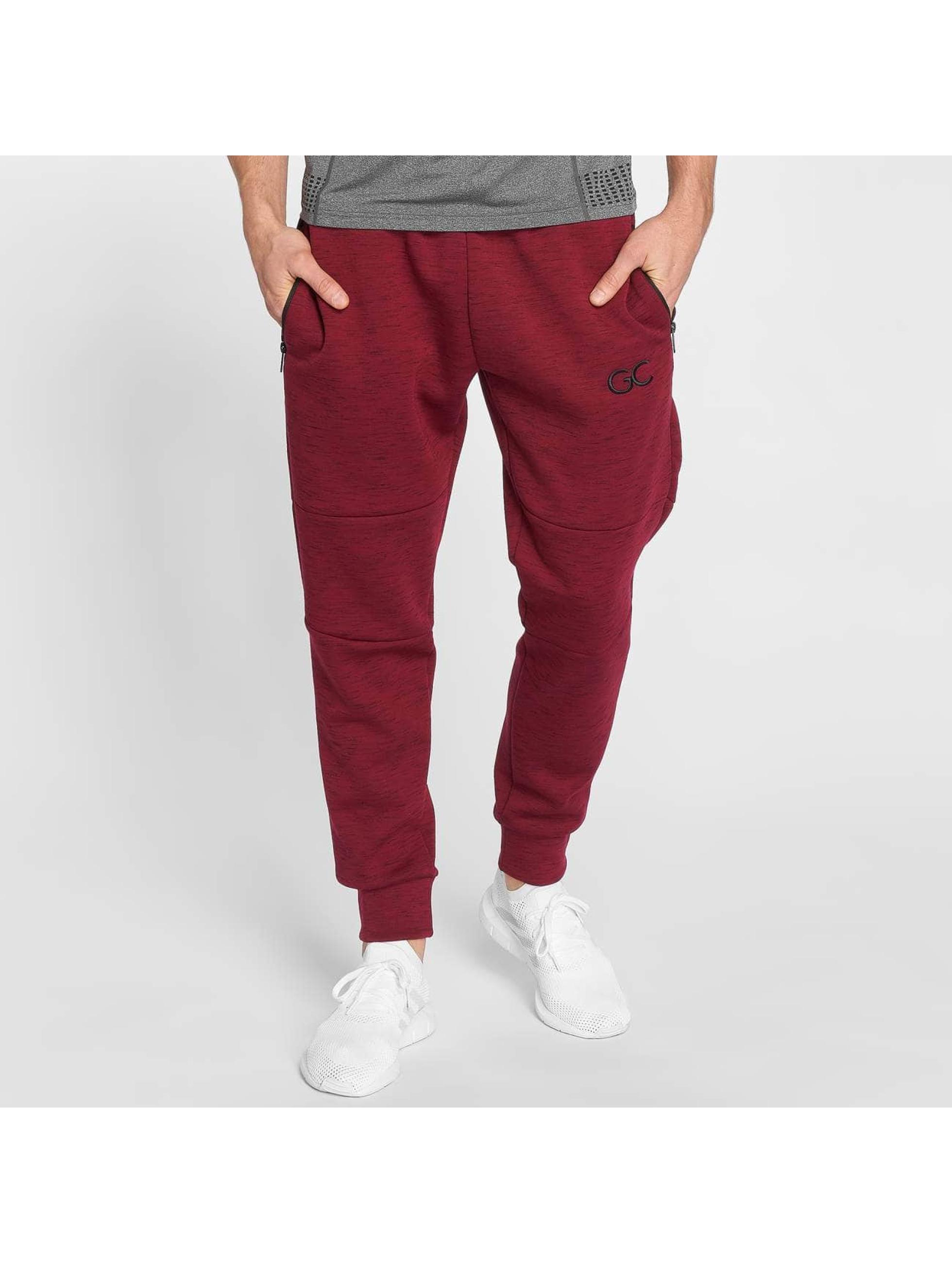 GymCodes Pantalón deportivo Athletic-Fit rojo