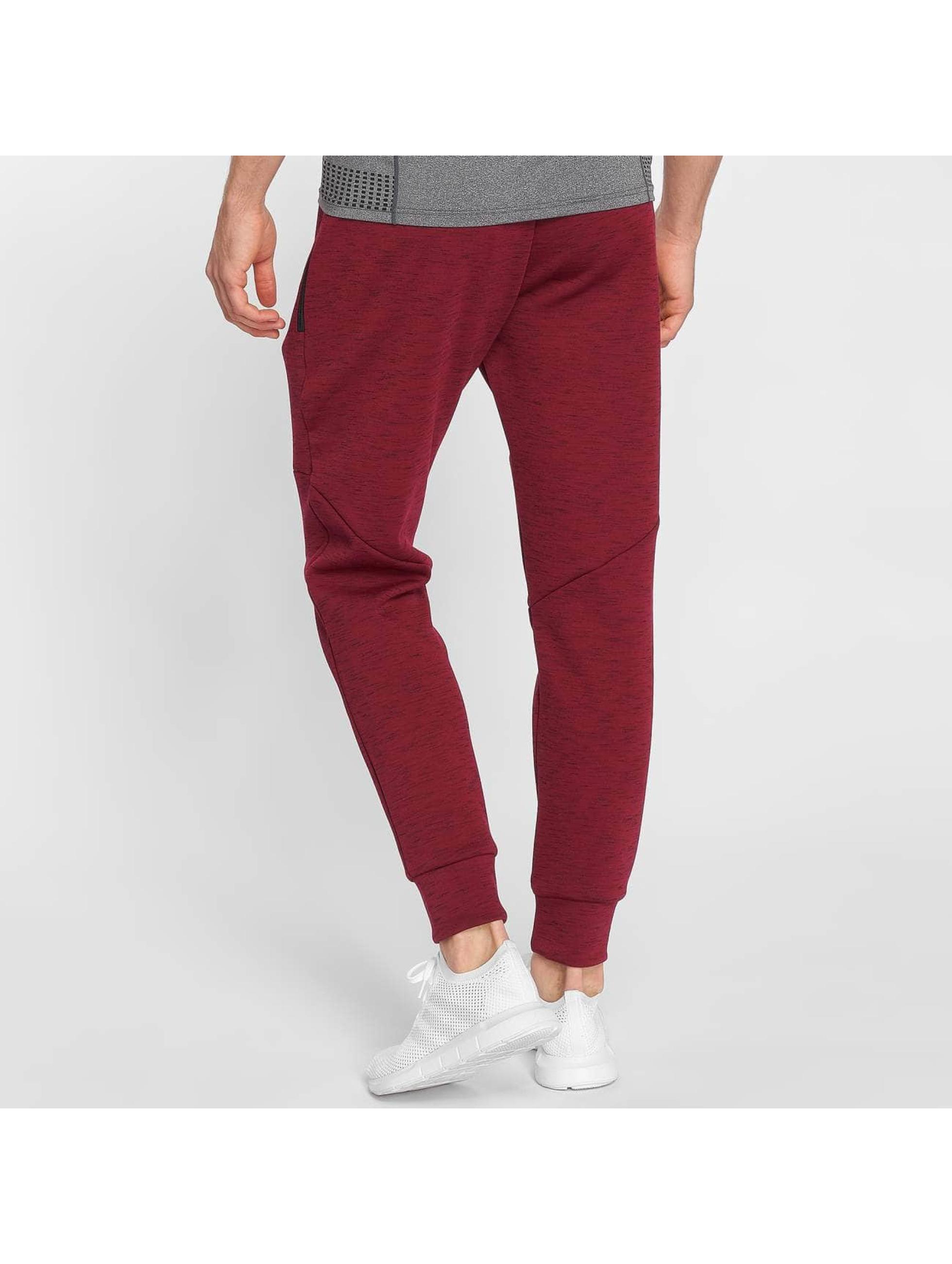 GymCodes Spodnie do joggingu Athletic-Fit czerwony