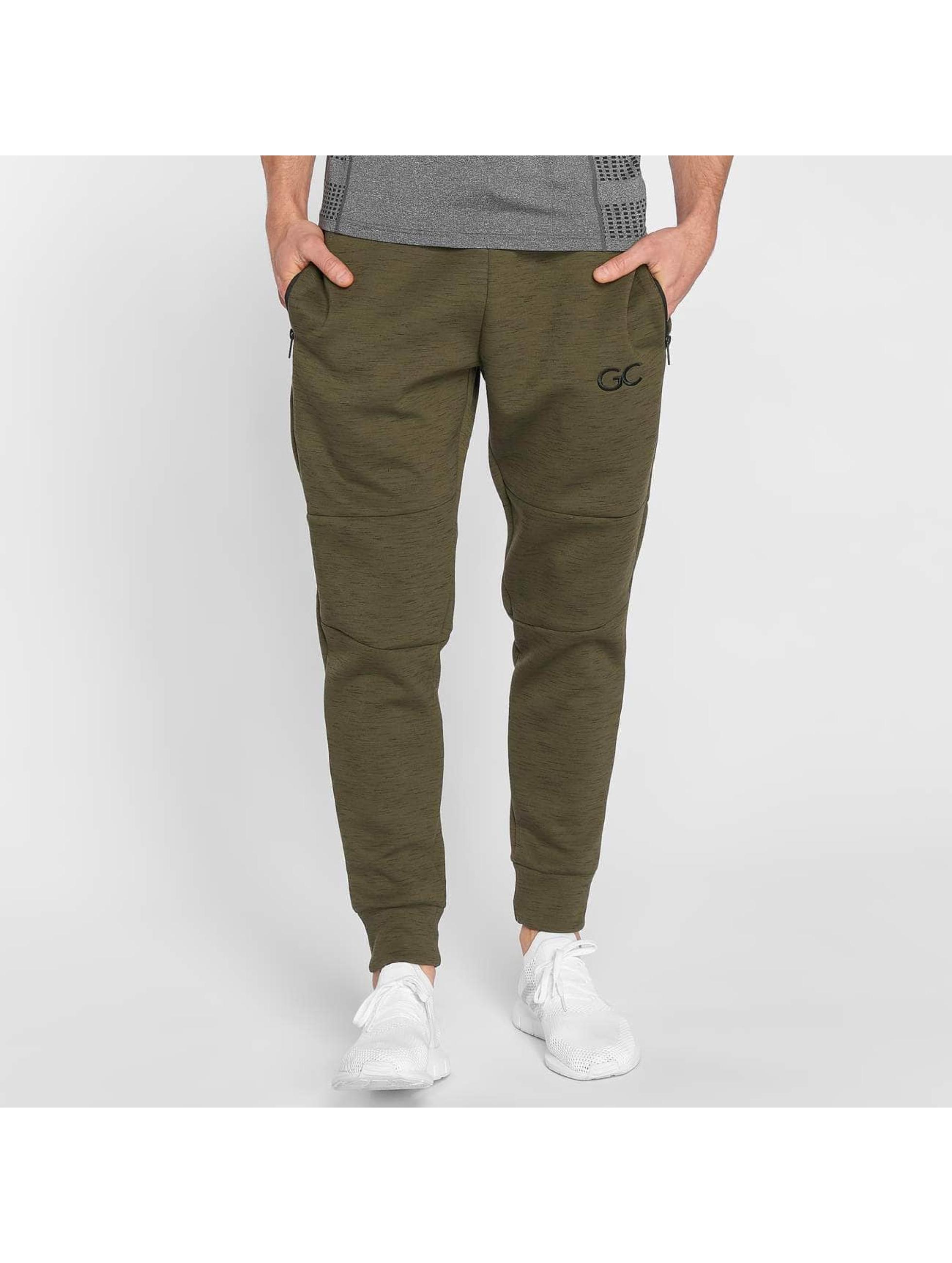 GymCodes Spodnie do joggingu Athletic-Fit oliwkowy