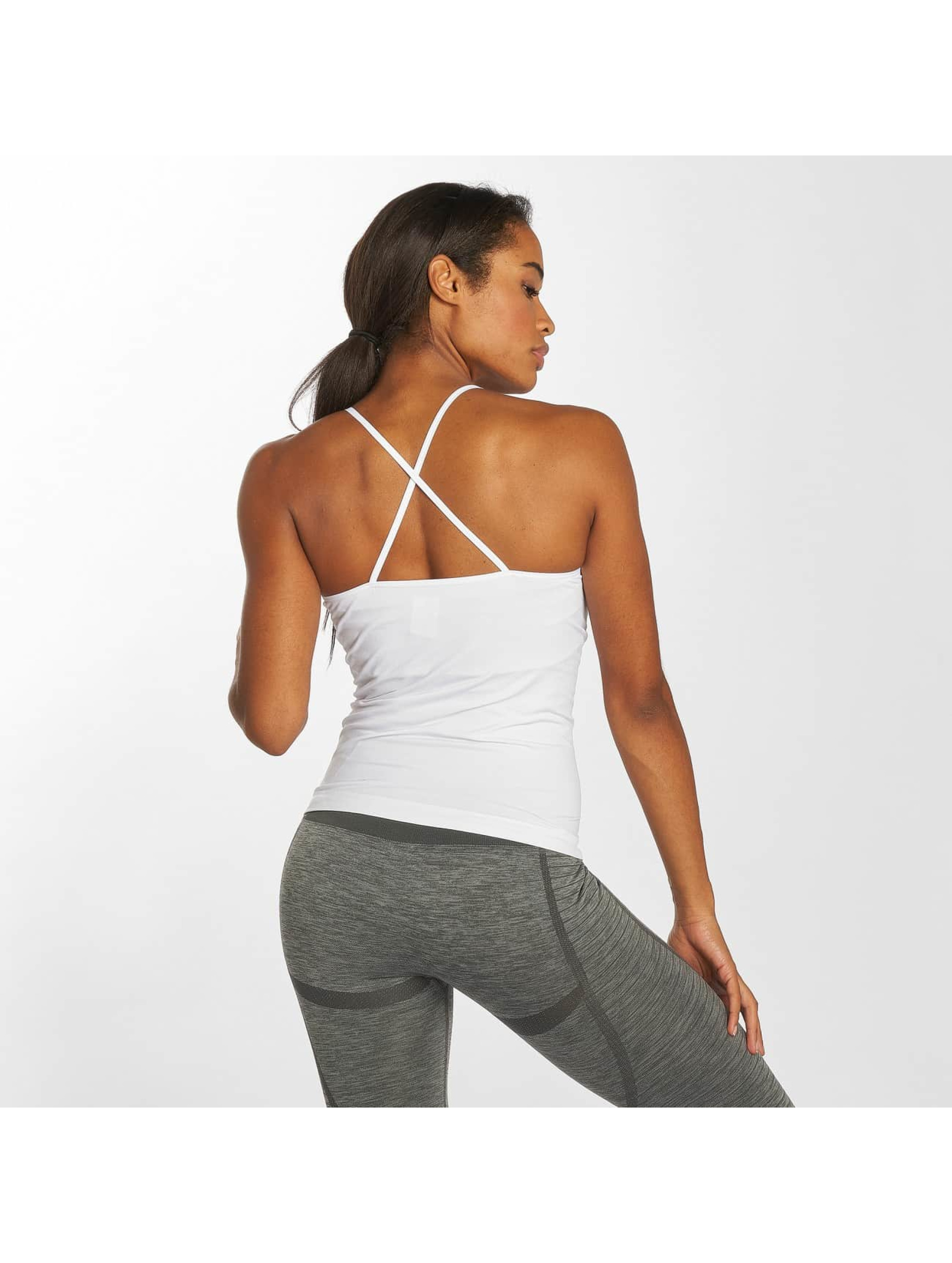 GymCodes Top Flex Cross blanco