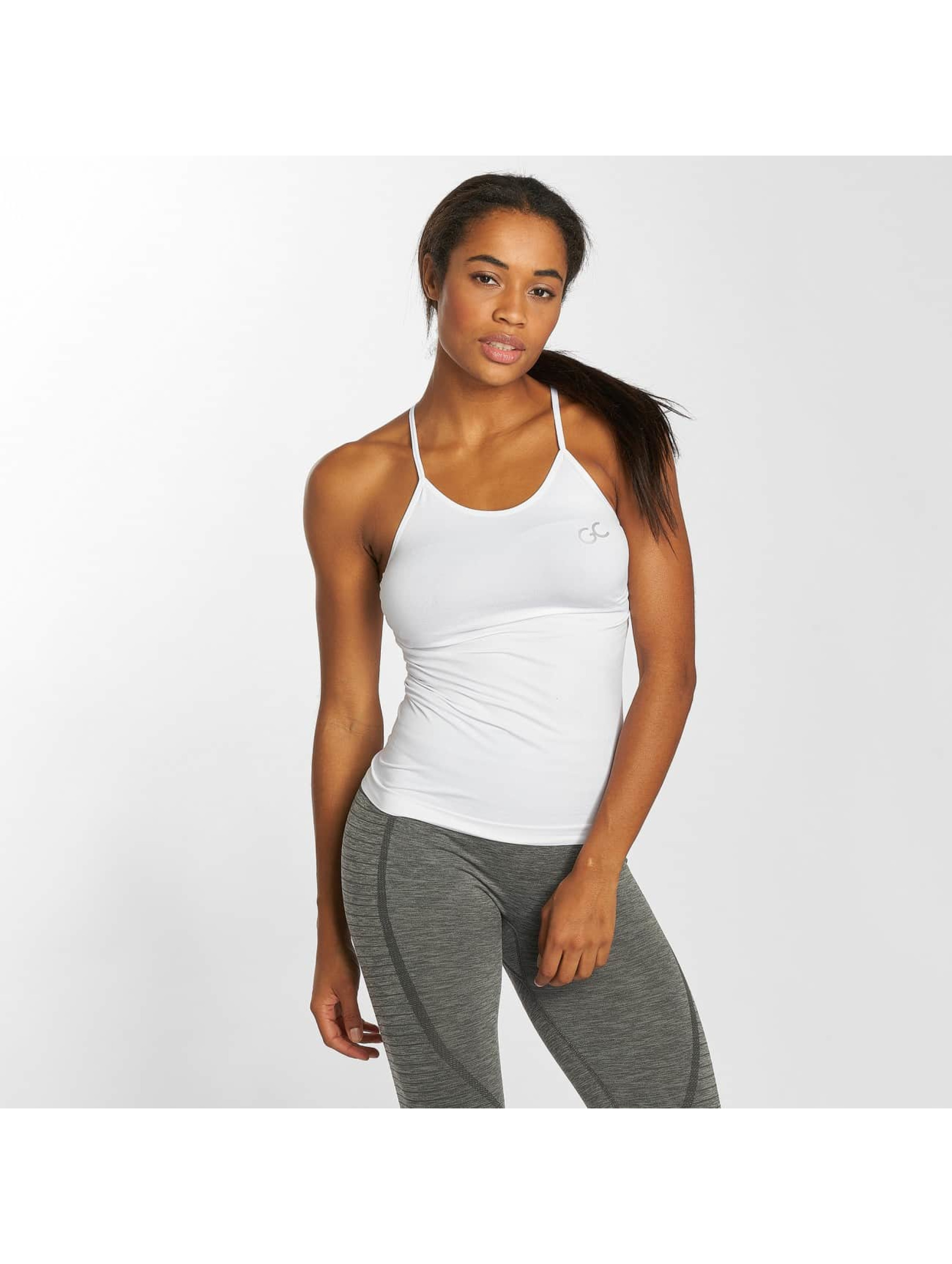 GymCodes Tops Flex Cross bialy