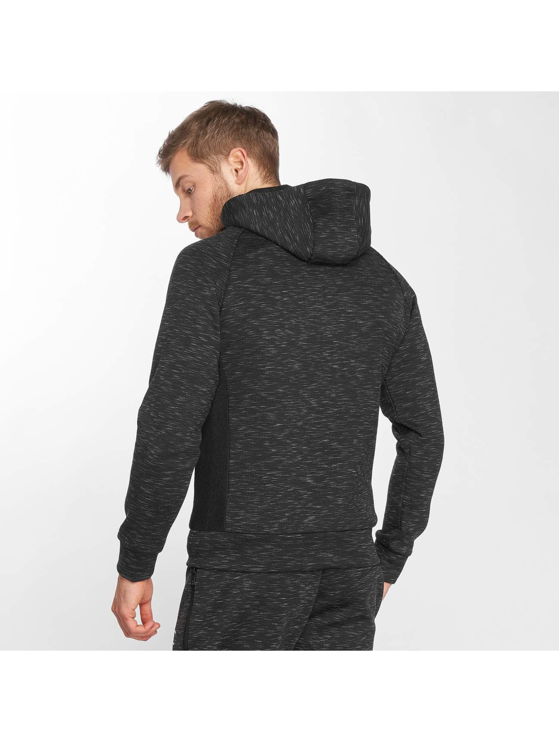 GymCodes Zip Hoodie Athletic-Fit svart