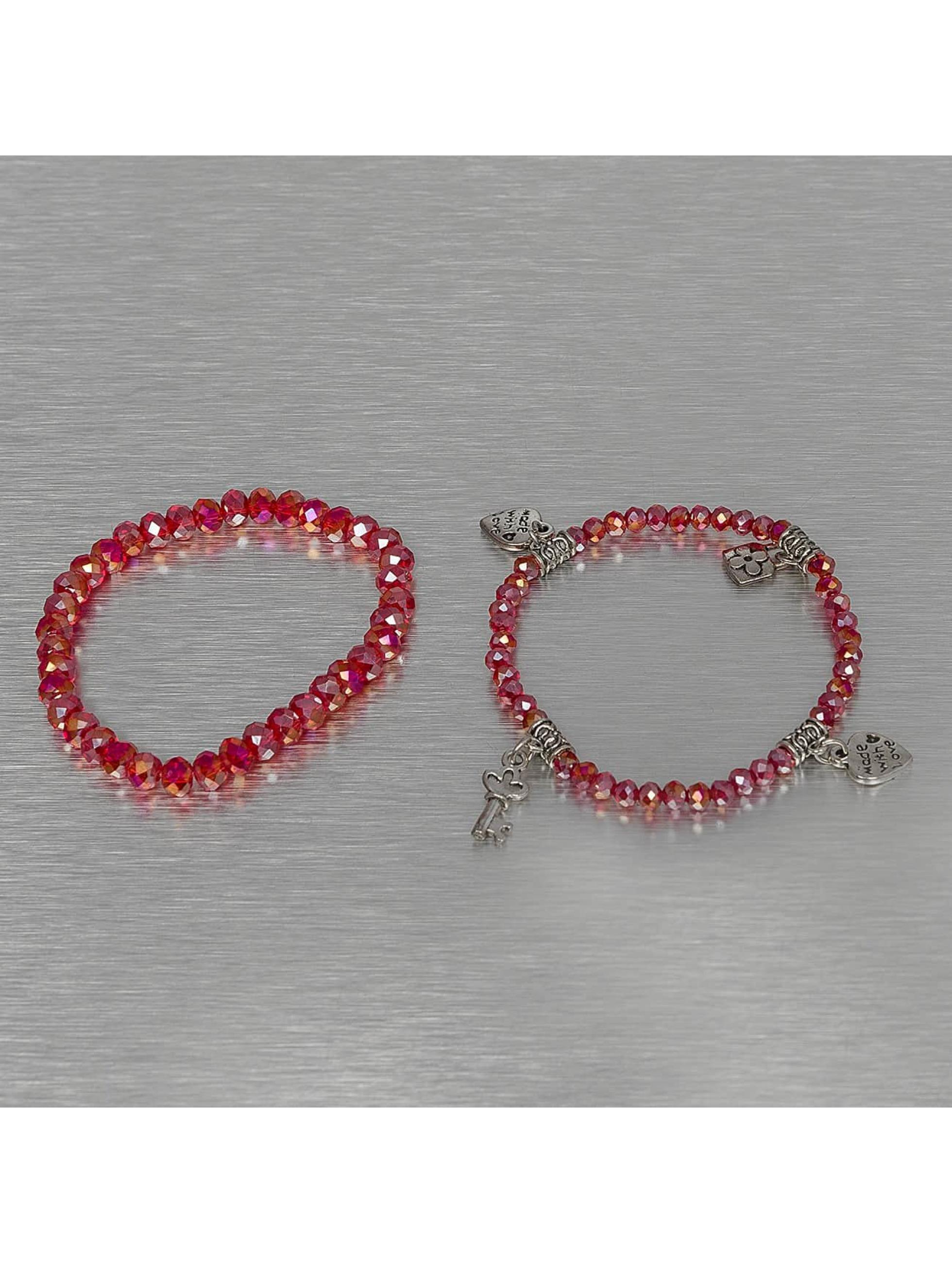 Hailys Браслет Chrissy красный