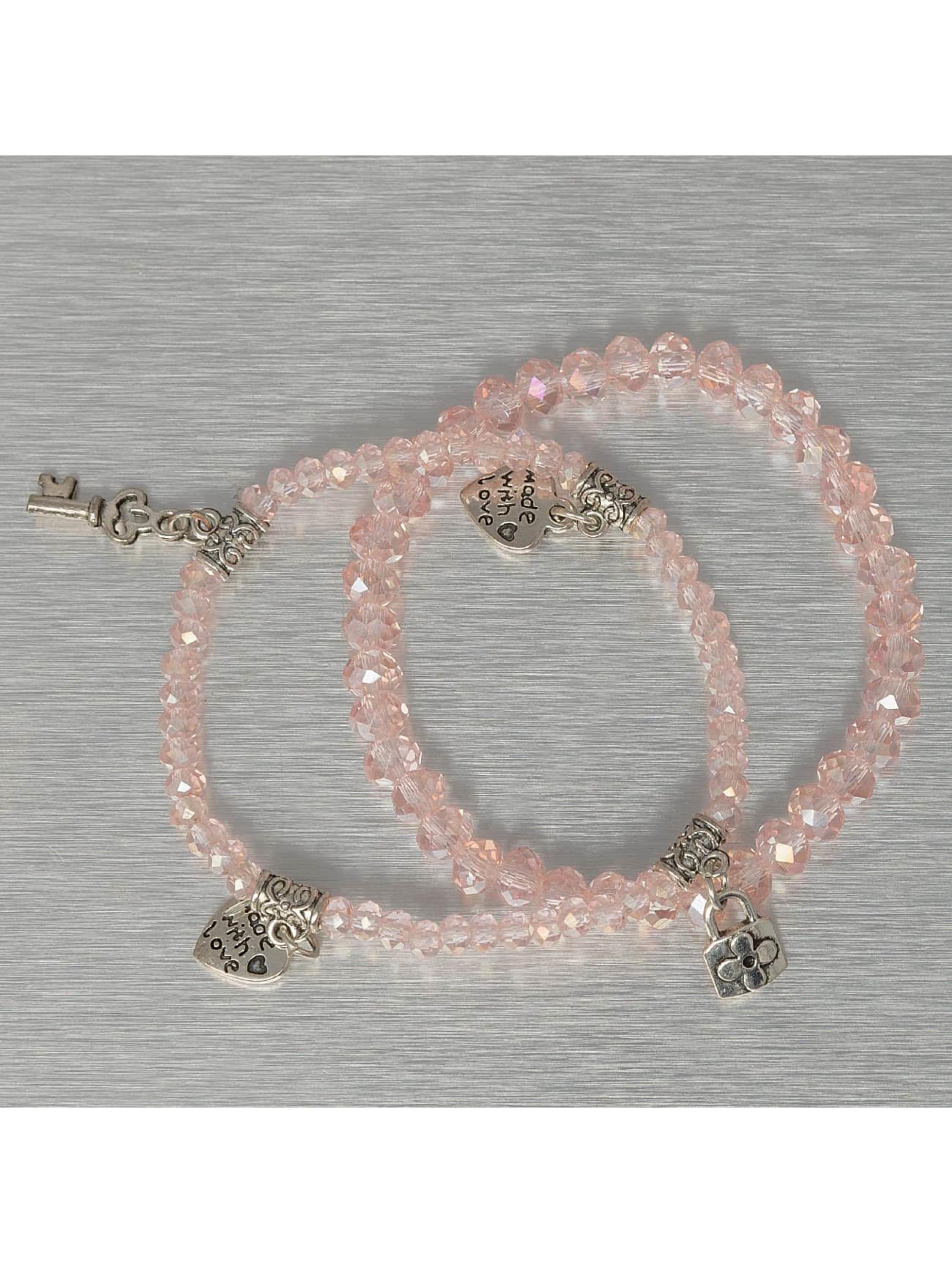 Hailys Браслет Chrissy розовый