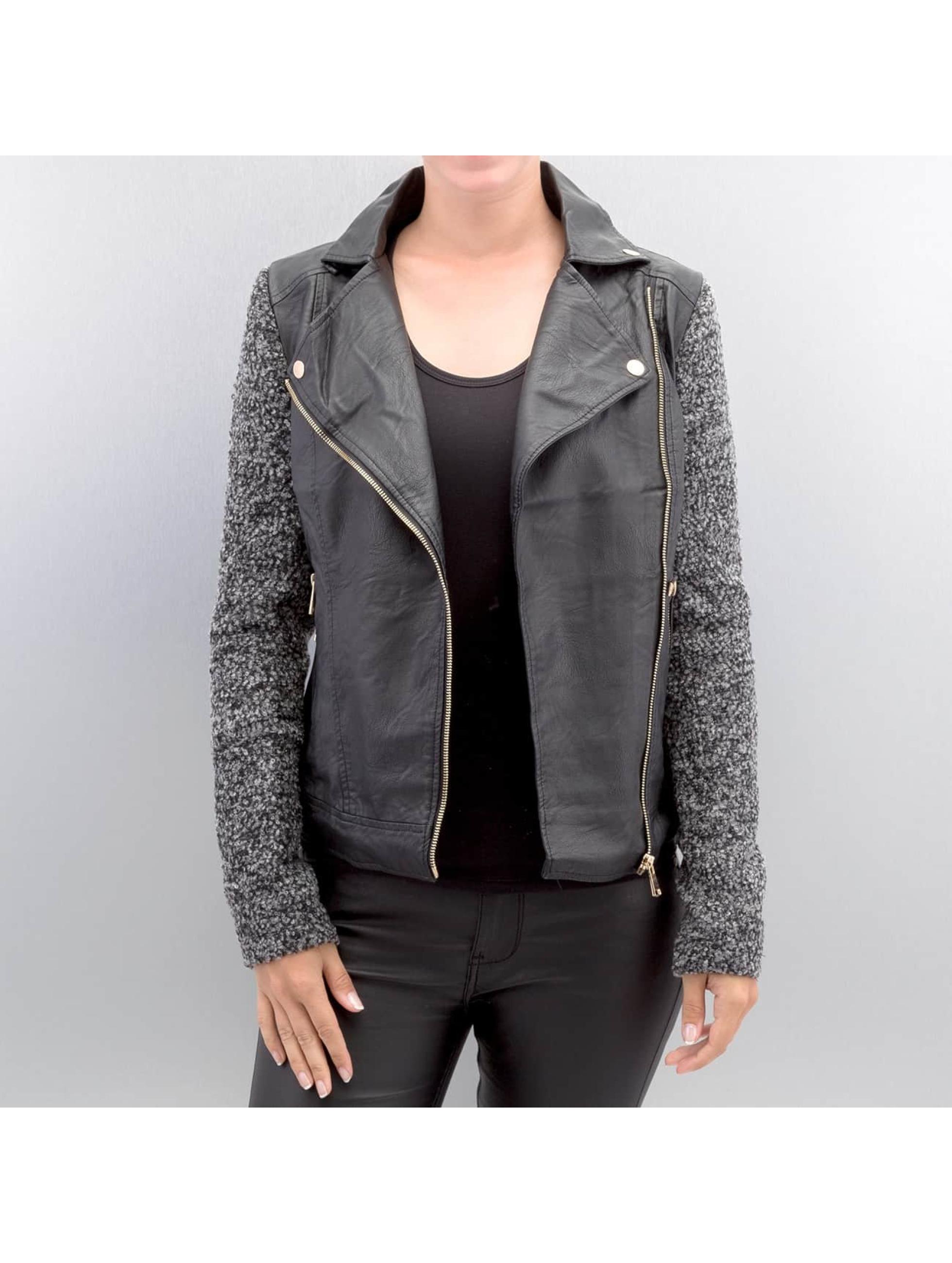 Hailys Демисезонная куртка Ceclilia Pop черный