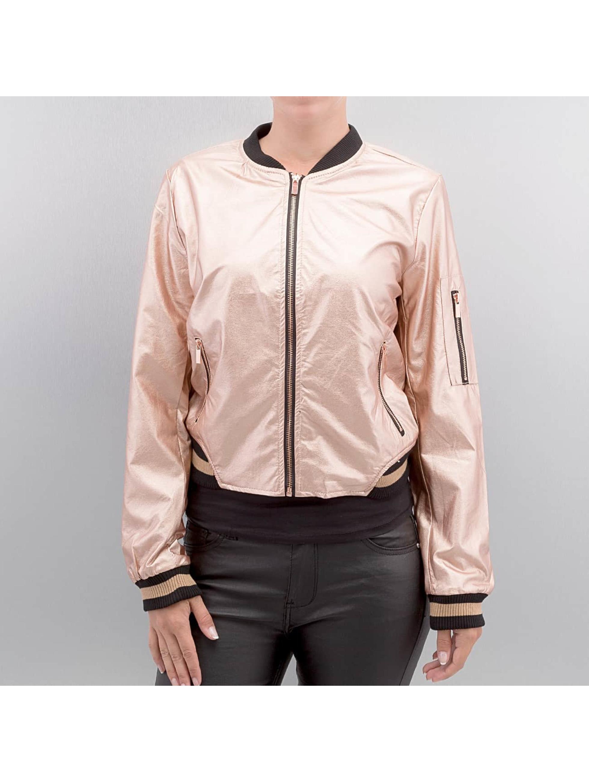Hailys Кожаная куртка Bonnie розовый