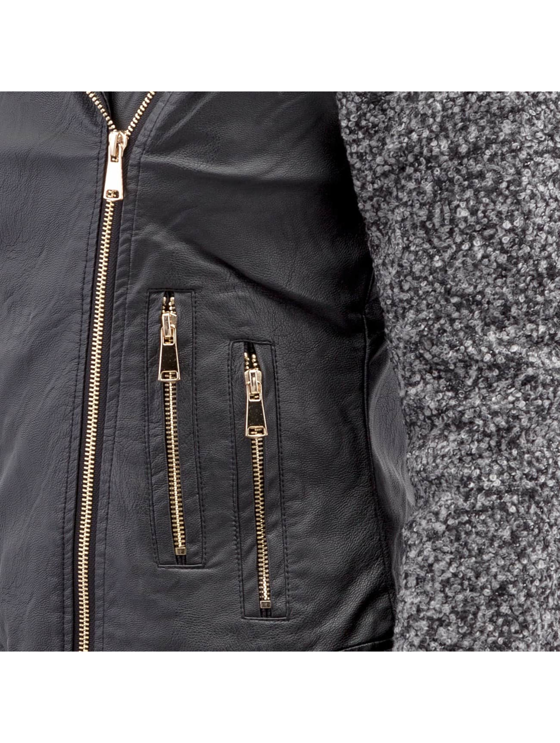 Hailys Кожаная куртка Ceclilia Pop черный