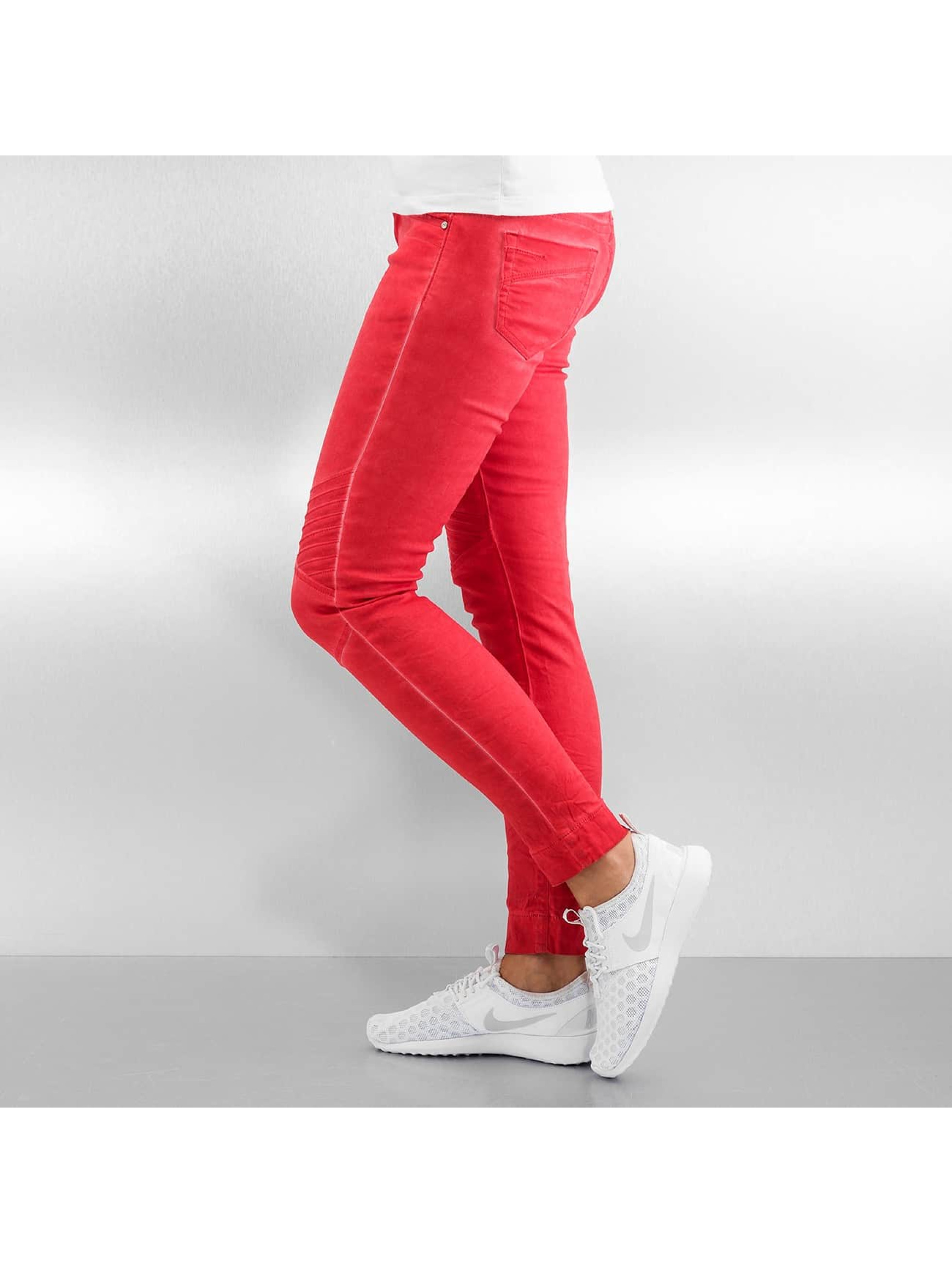 Hailys Облегающие джинсы Tora красный