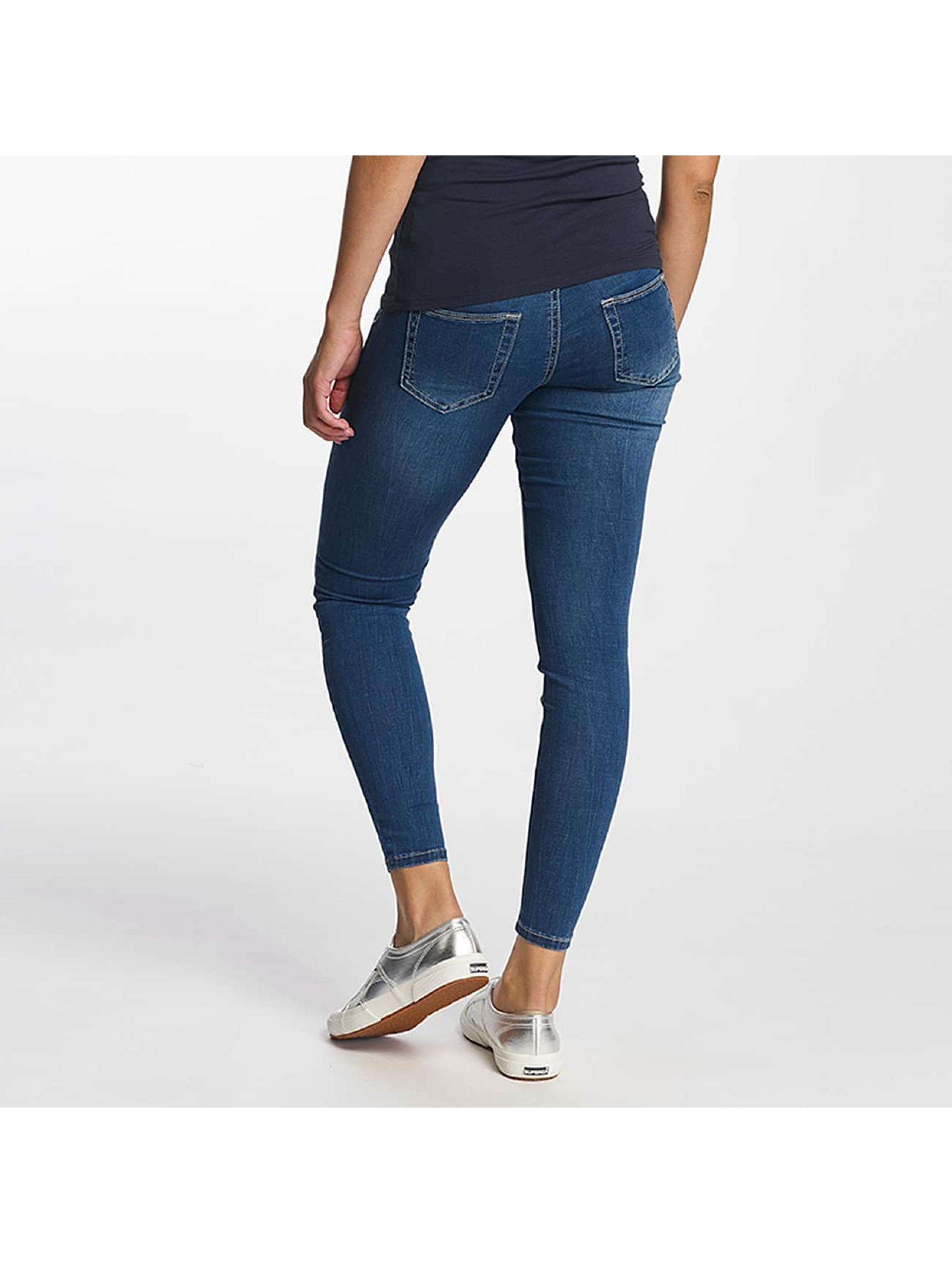 Hailys Облегающие джинсы Bella синий
