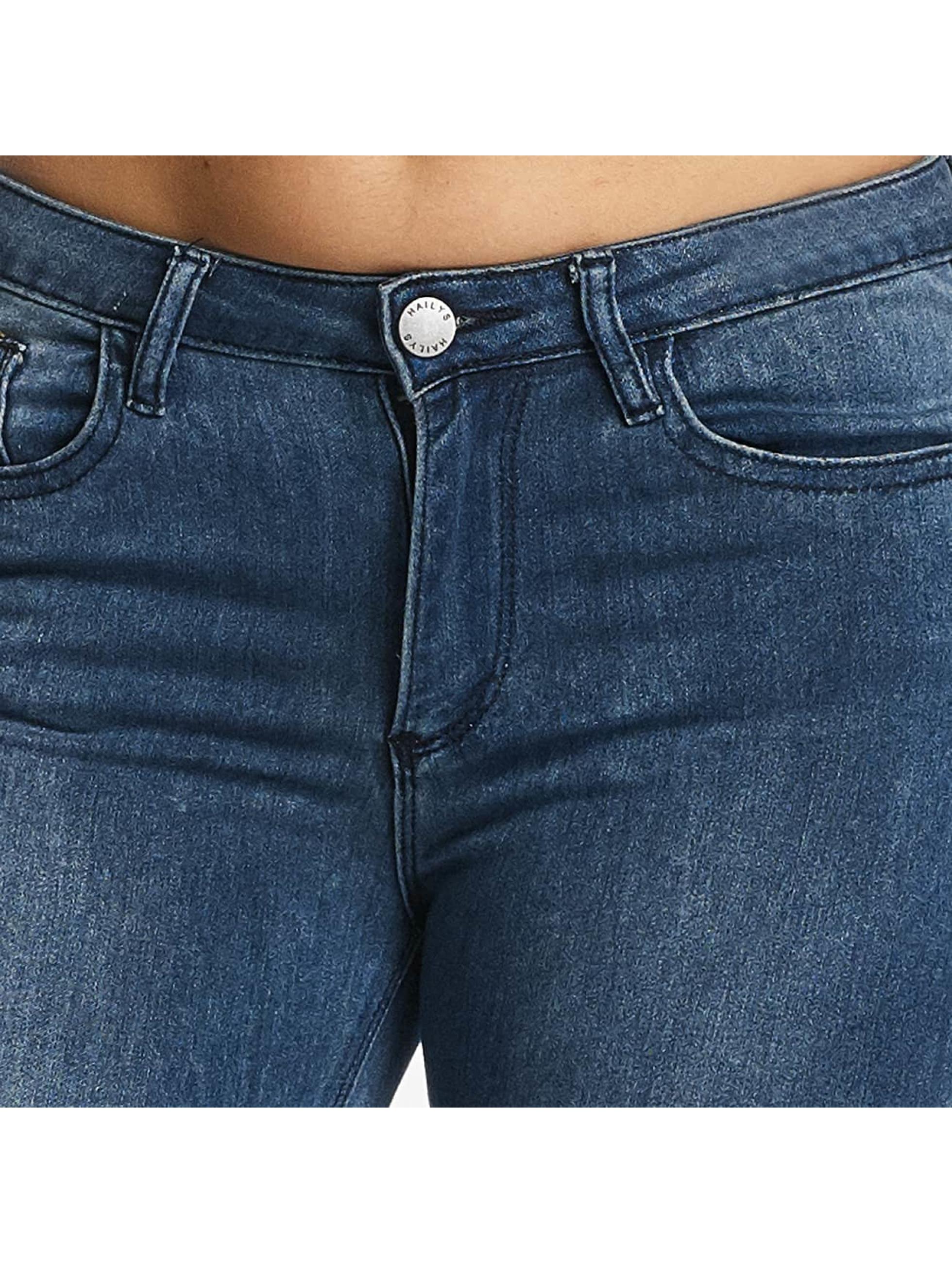 Hailys Облегающие джинсы Chiara синий