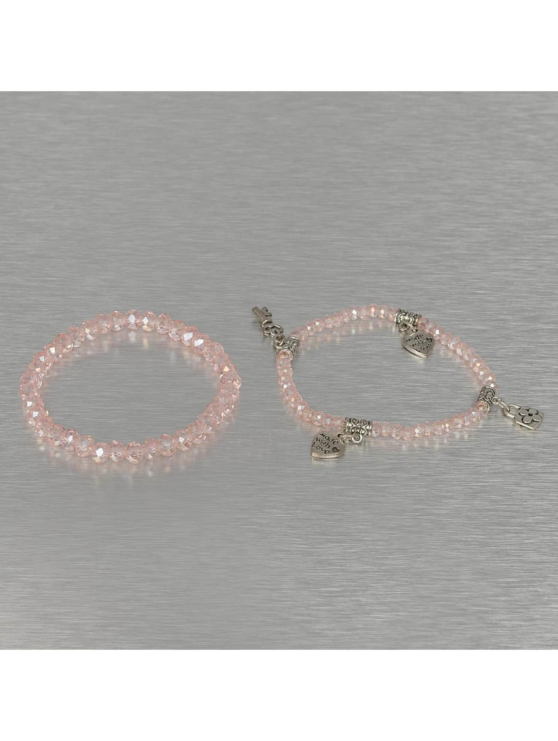 Hailys Armbånd Chrissy rosa