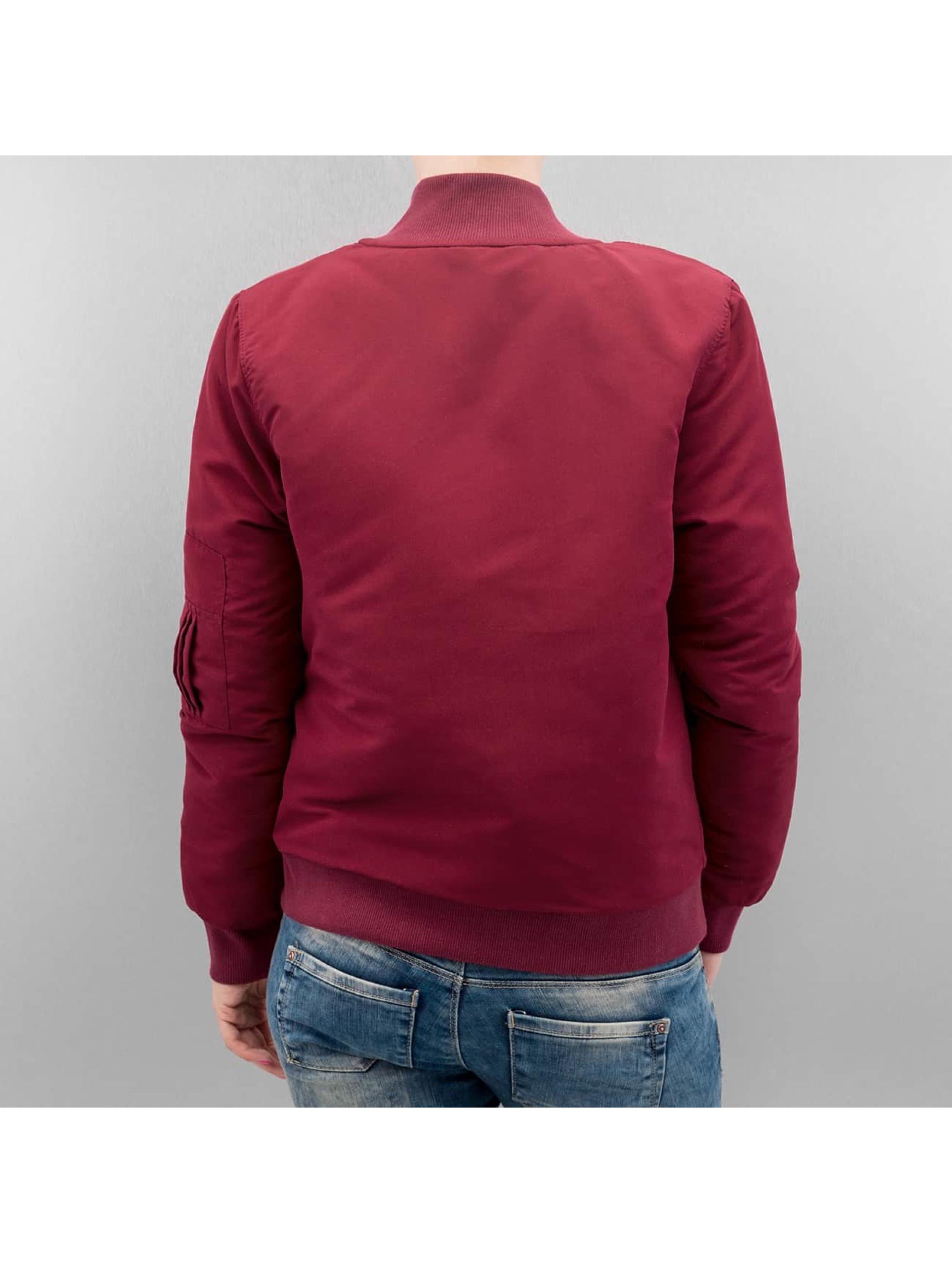 Hailys Bomber jacket Bomberjacke red