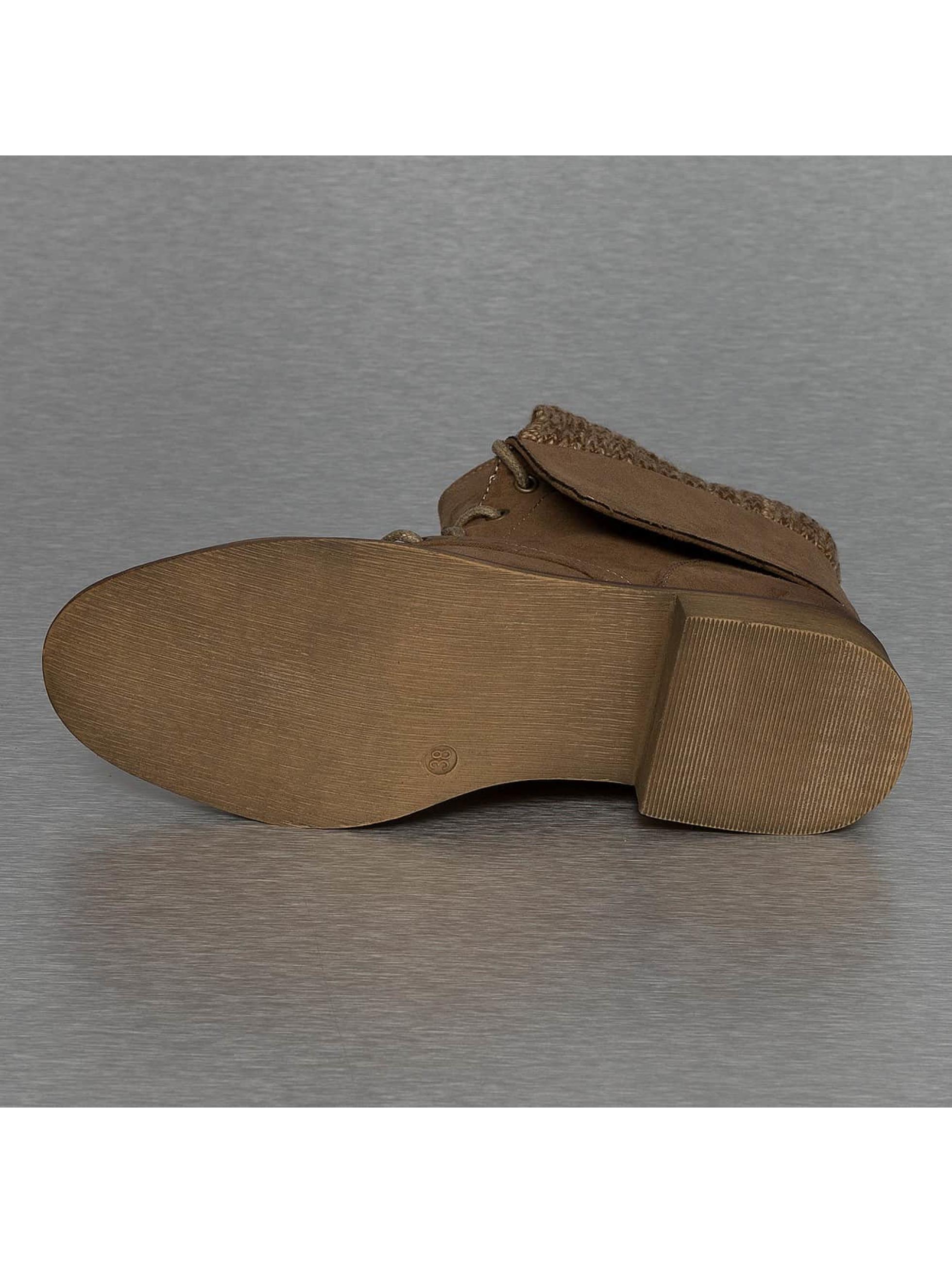 Hailys Bottines Ariana brun