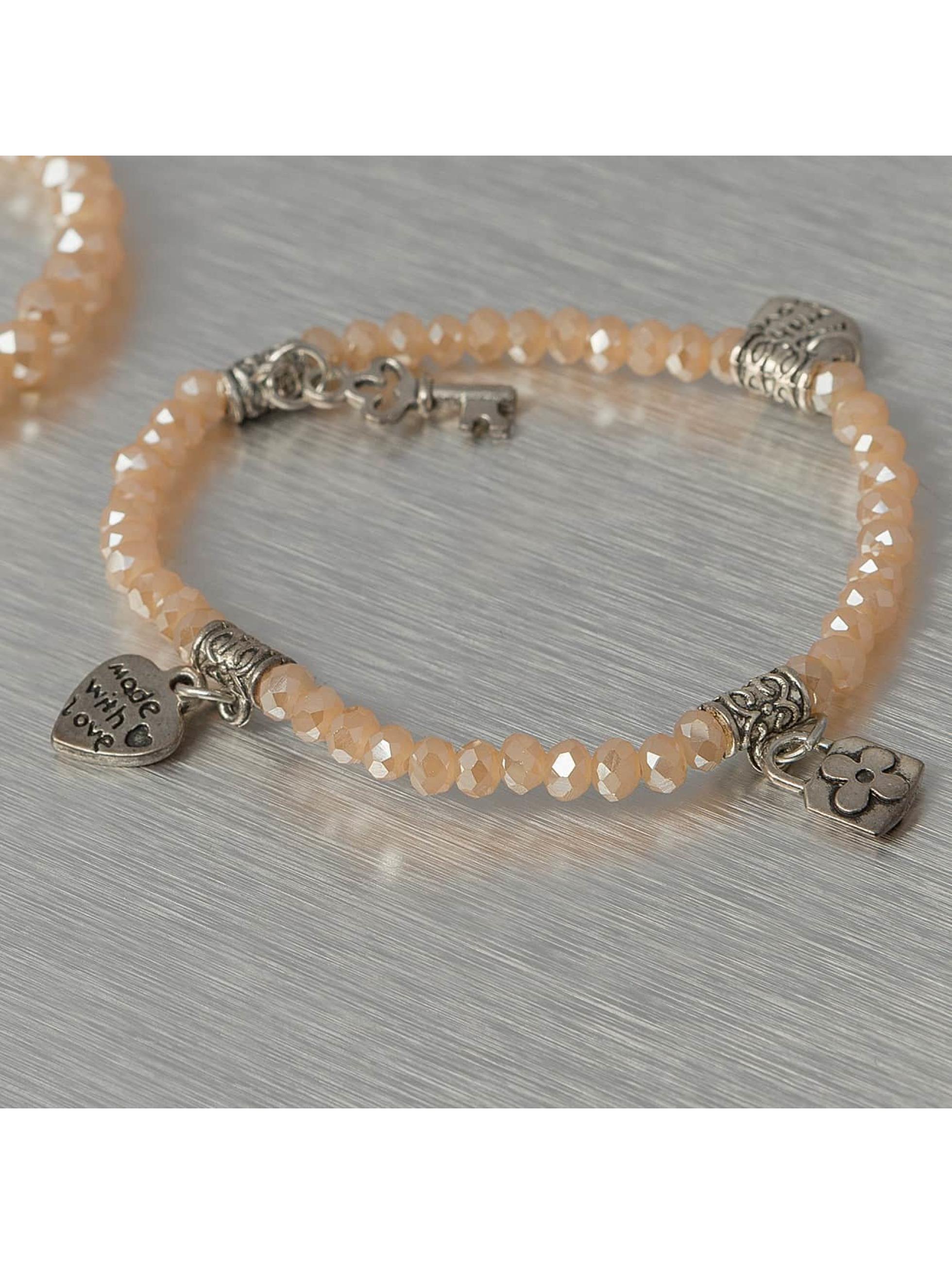 Hailys Bracelet Chrissy brun