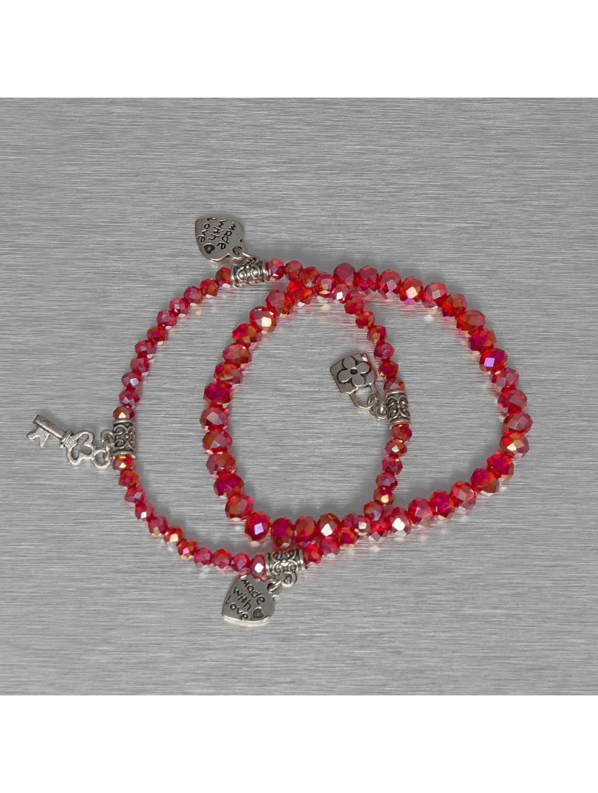 Hailys Bracelet Chrissy rouge