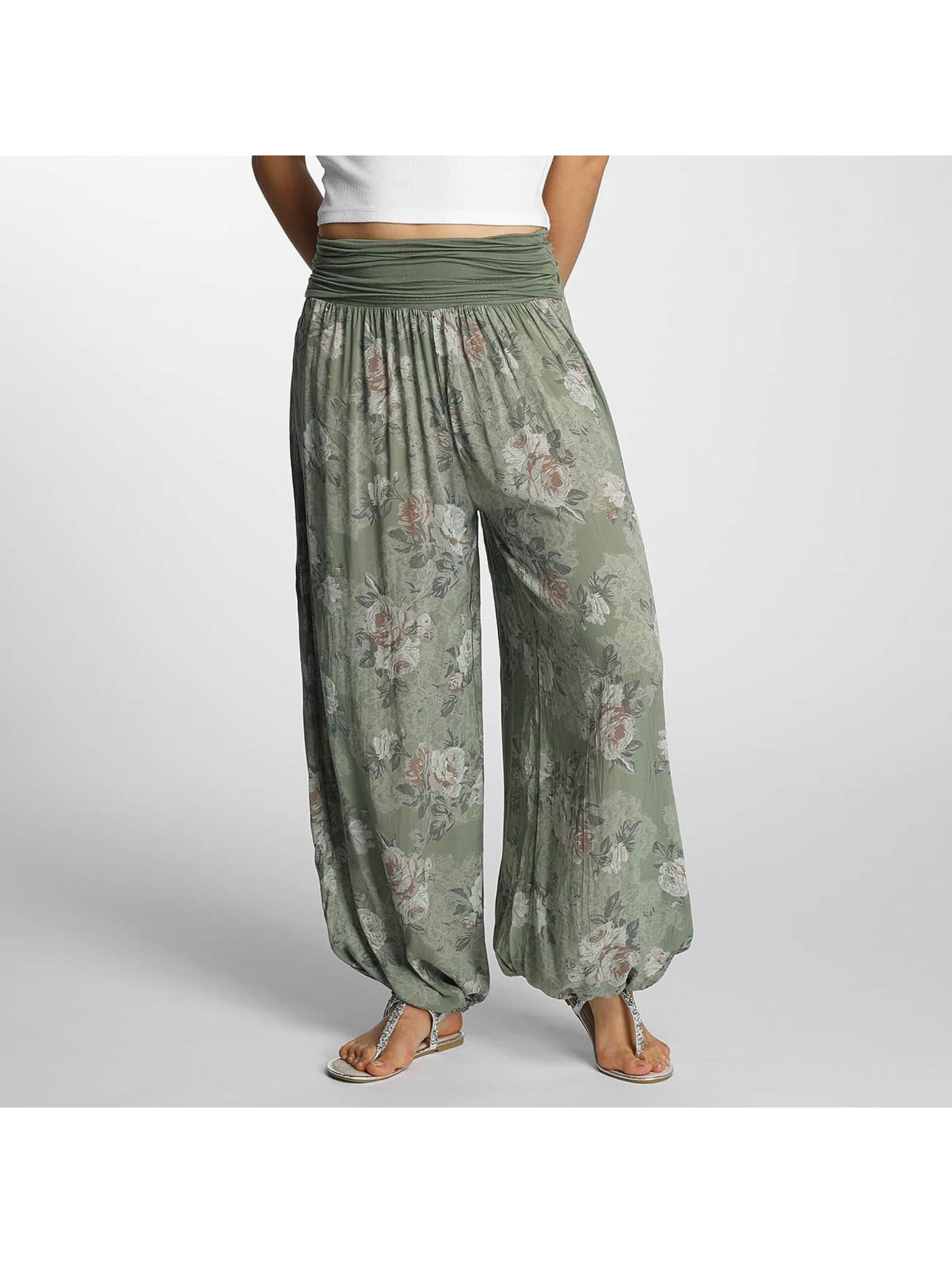 Hailys Pantalon / Chino Jasmin en kaki