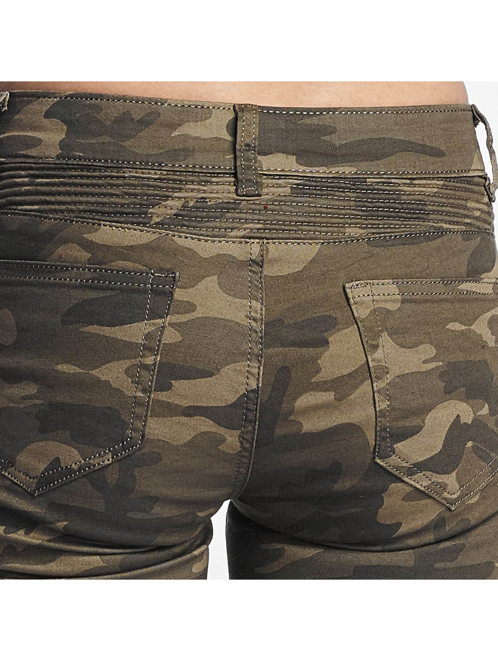 Hailys Jean skinny Kina Biker camouflage