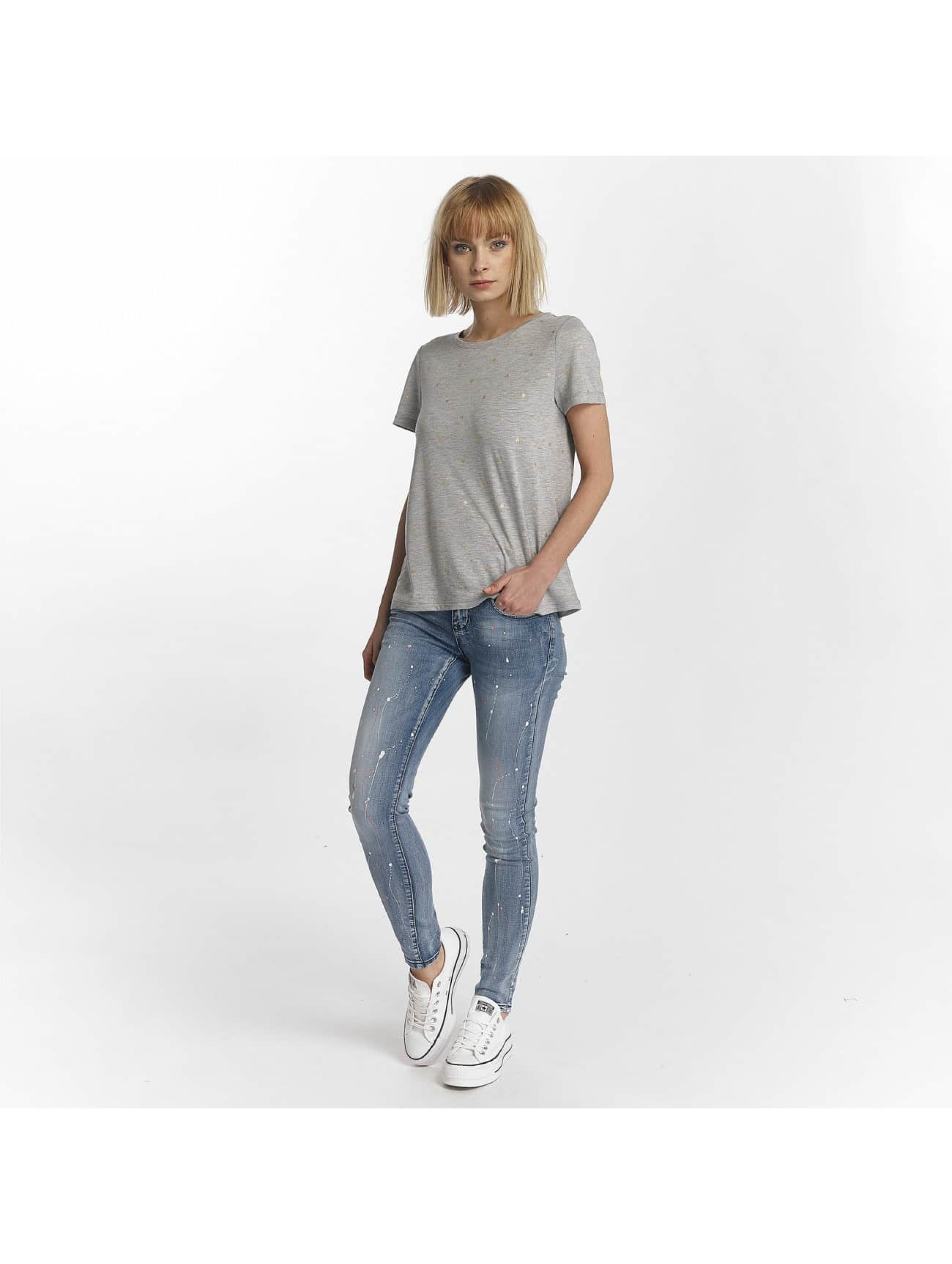 Hailys Jeans slim fit Splashy blu