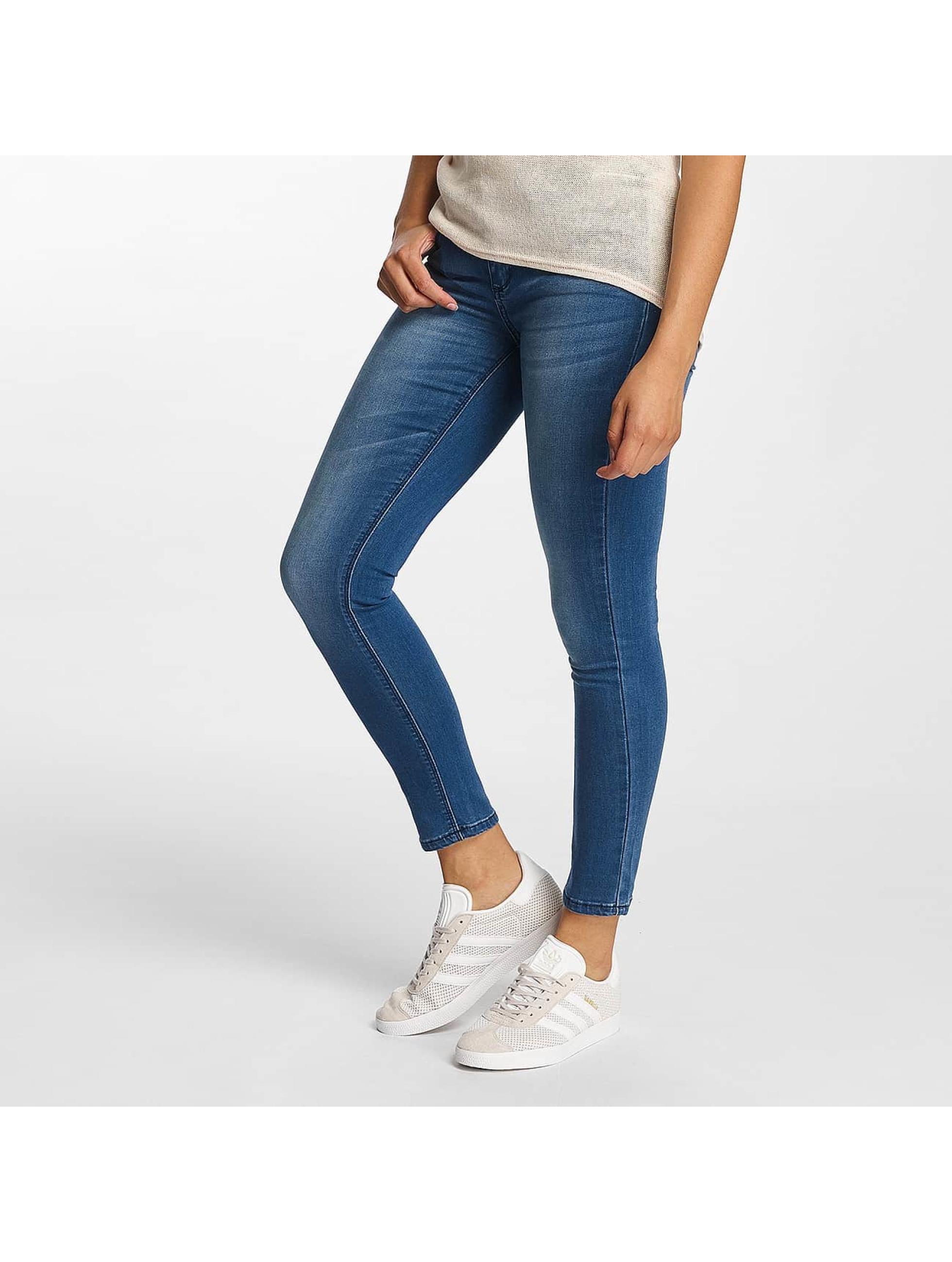 Hailys Jeans slim fit Mia Basic blu