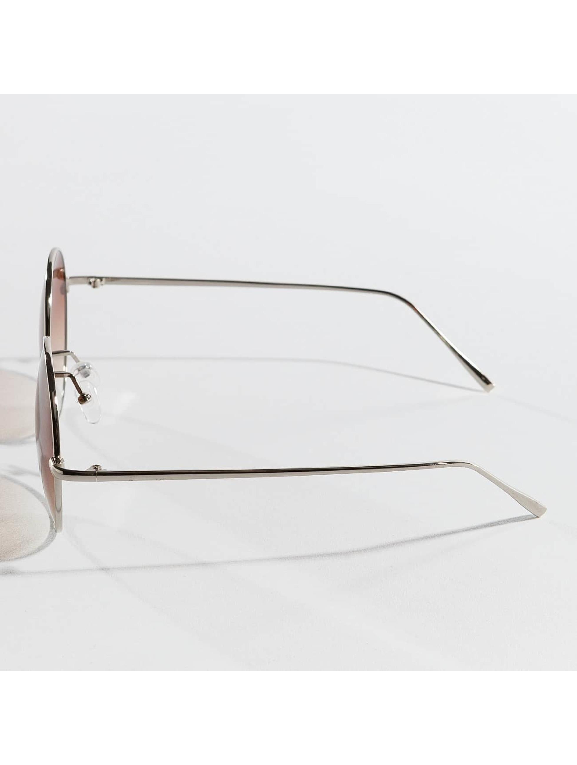 Hailys Okulary Luna srebrny