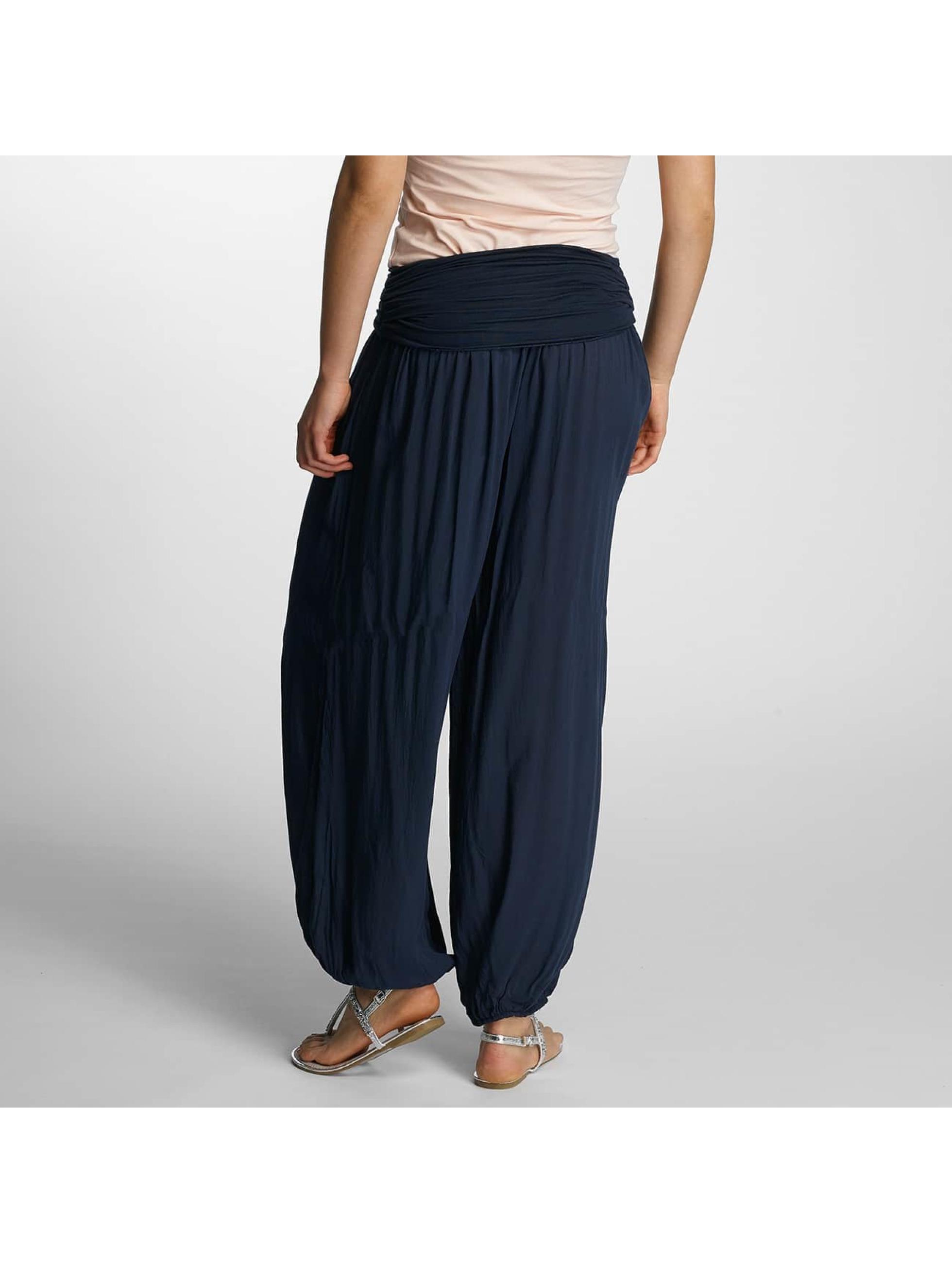 Hailys Pantalon chino Jasmin bleu