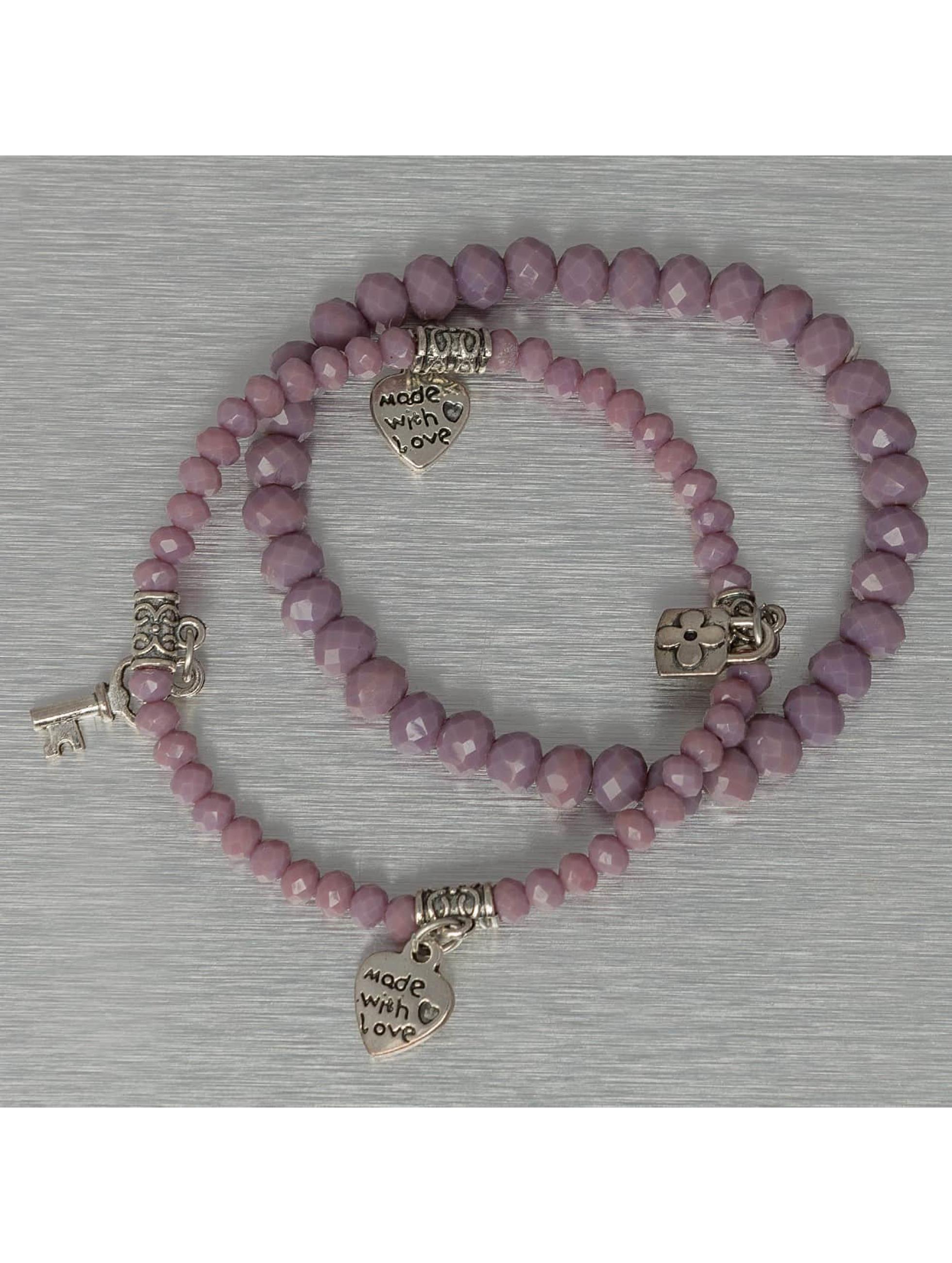 Hailys Rannekorut Chrissy purpuranpunainen