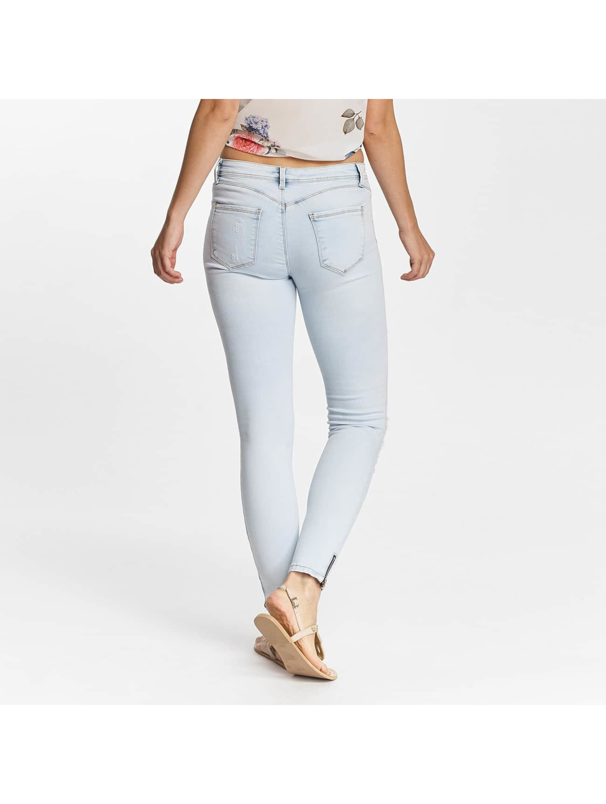 Hailys Skinny Jeans Lara blå