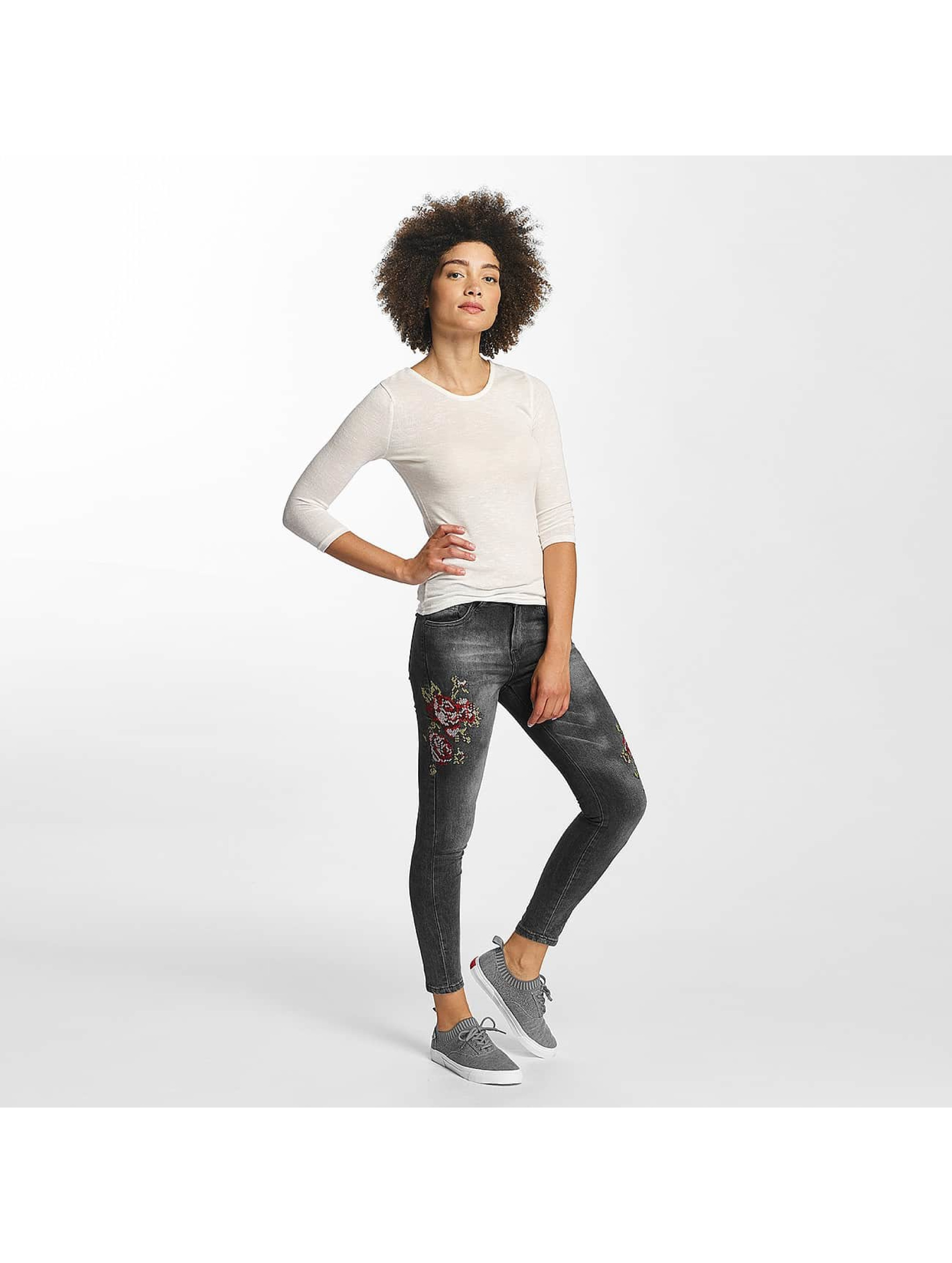 Hailys Skinny Jeans Sari Roses black